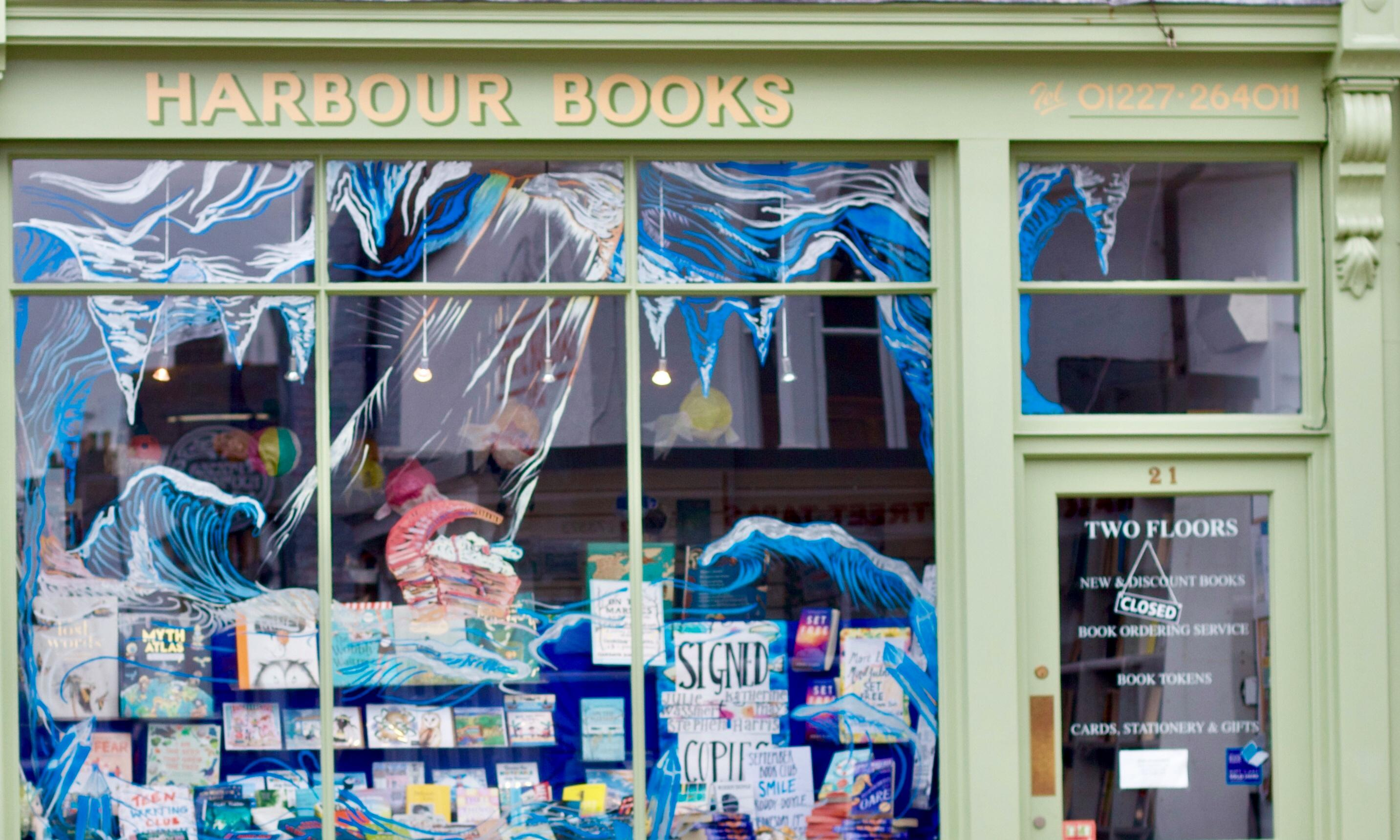 Browse a bookshop: Harbour Books, Whitstable, Kent