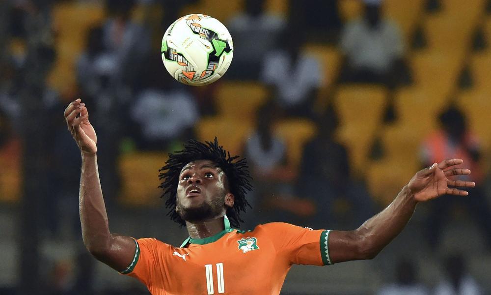 Ivory Coast's Franck Kessié