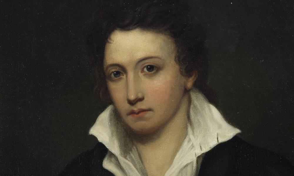 Percy Bysshe Shelley, with whom Shelley resembled a 'surrendered wife'.