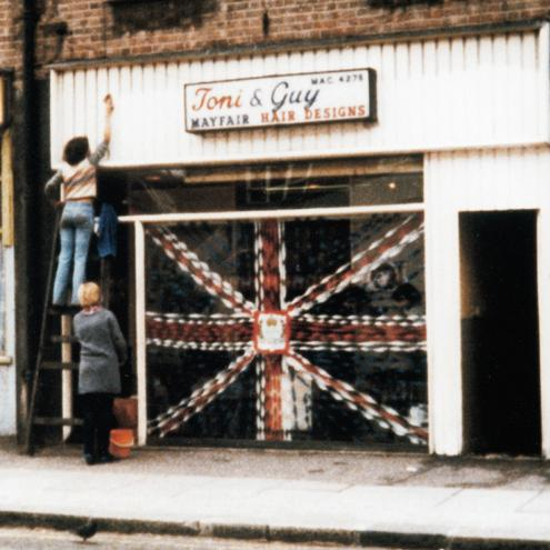 The first Toni & Guy salon, in Clapham, south London.