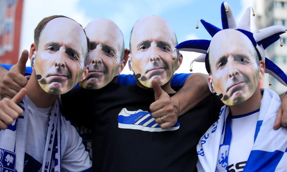 Mike Dean, out in force.