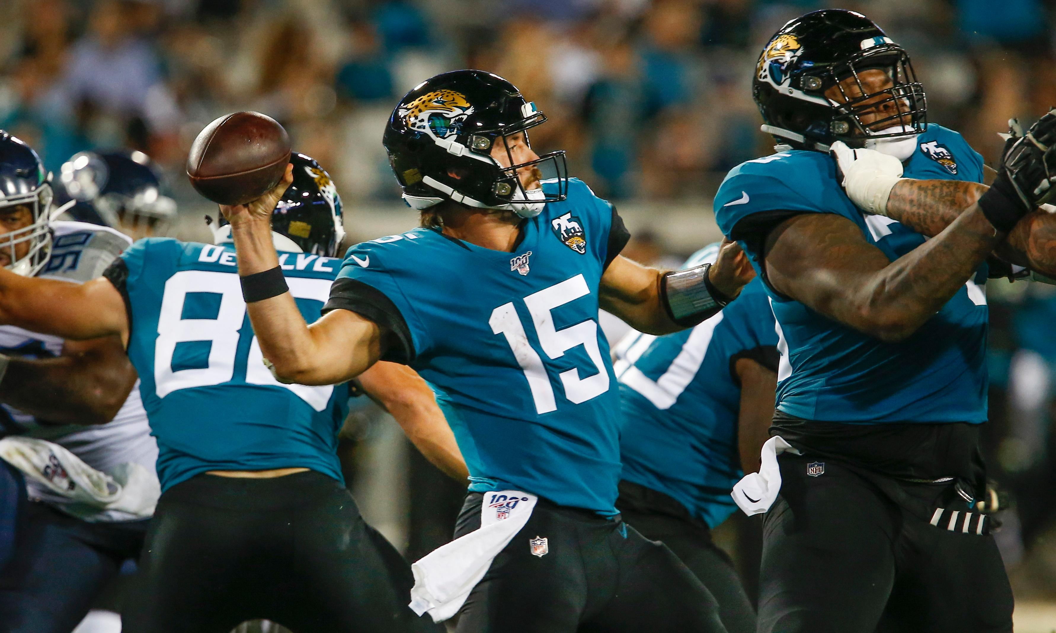 Gardner Minshew and Jaguars' defense stand tall in win over Tennessee Titans