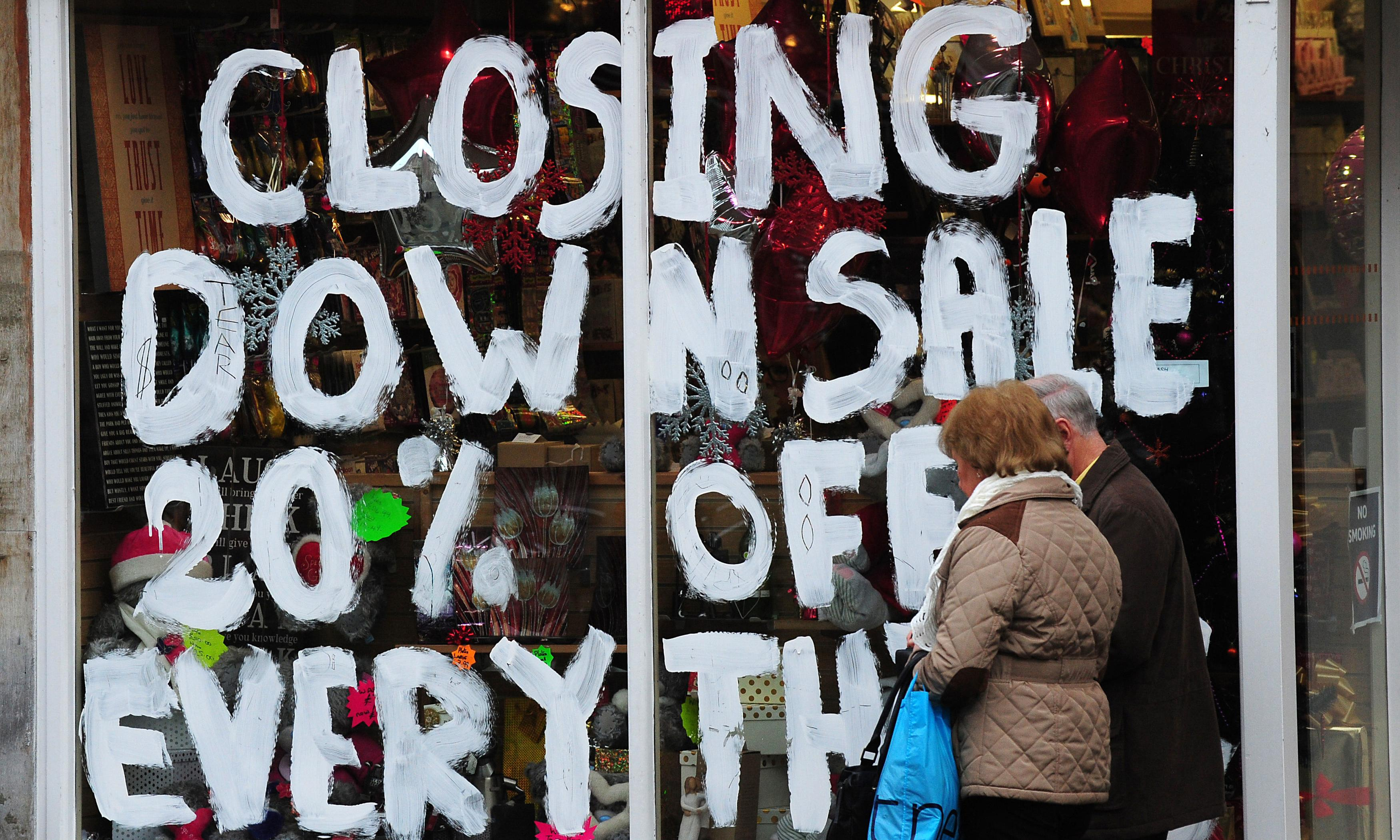 How to stop the disastrous decline of high street shops