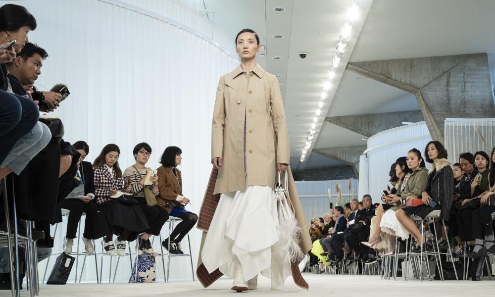 Loewe models on the runway