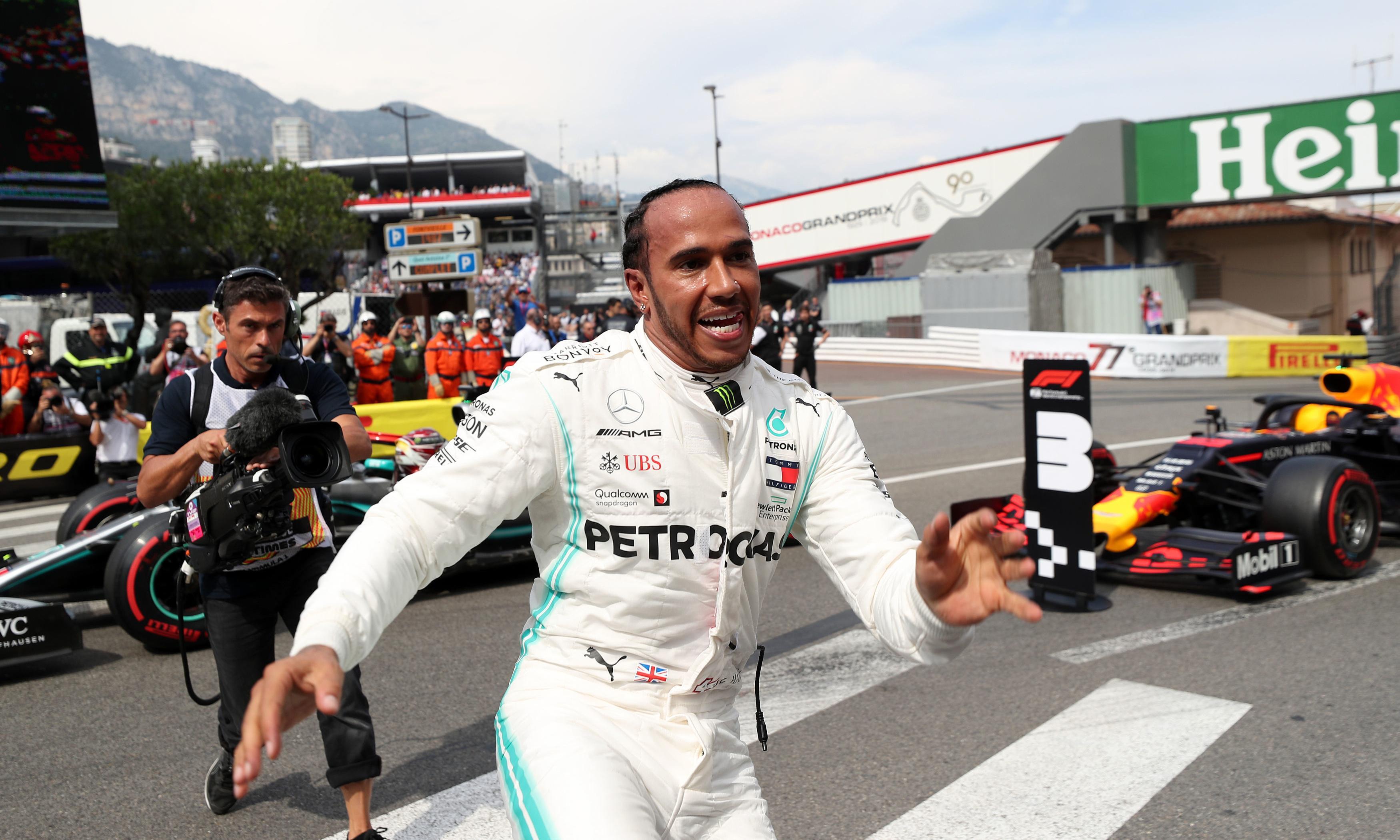 Lewis Hamilton pips Valtteri Bottas to Monaco GP pole as Leclerc slumps
