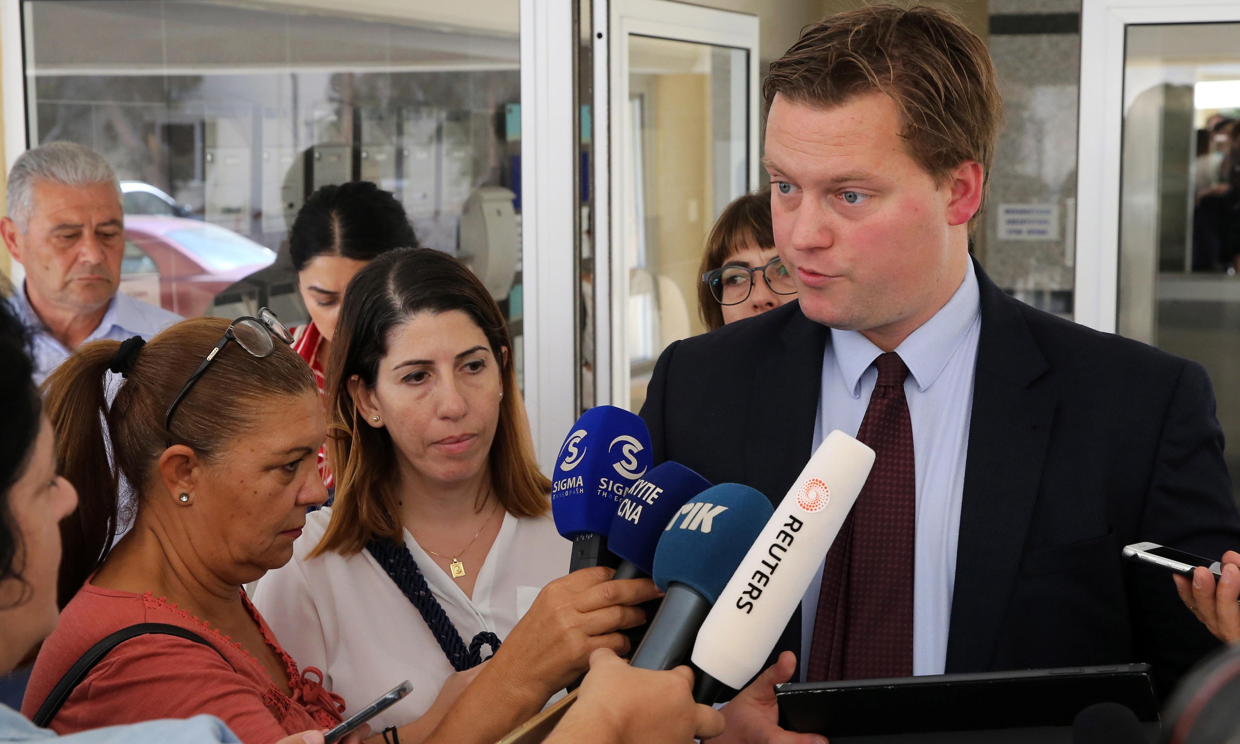 Rights groups urge Cyprus to drop false rape case against Briton