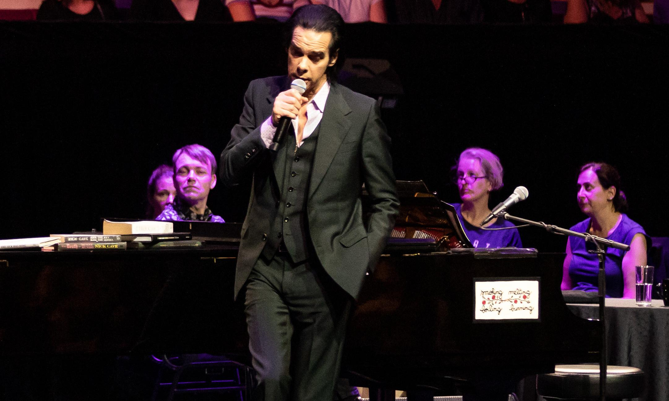 Conversations With Nick Cave review – intimate audience with a rock'n'roll rebel