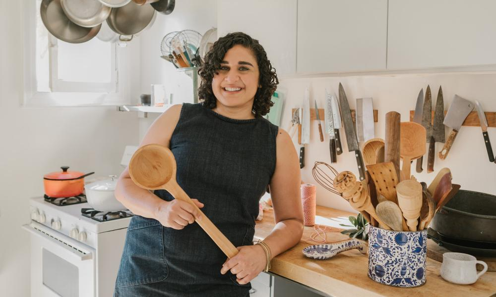 Samin Nosrat: 'My best friend travels around the world for his research and we share a love for obnoxiously large utensils.'