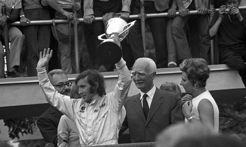 Jackie Stewart's glorious 1969: 'I had a fantastic team around me'