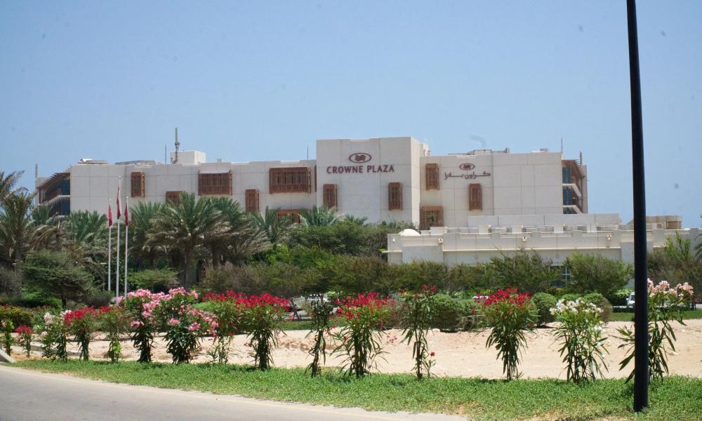 Duqm's Crowne Plaza Hotel.