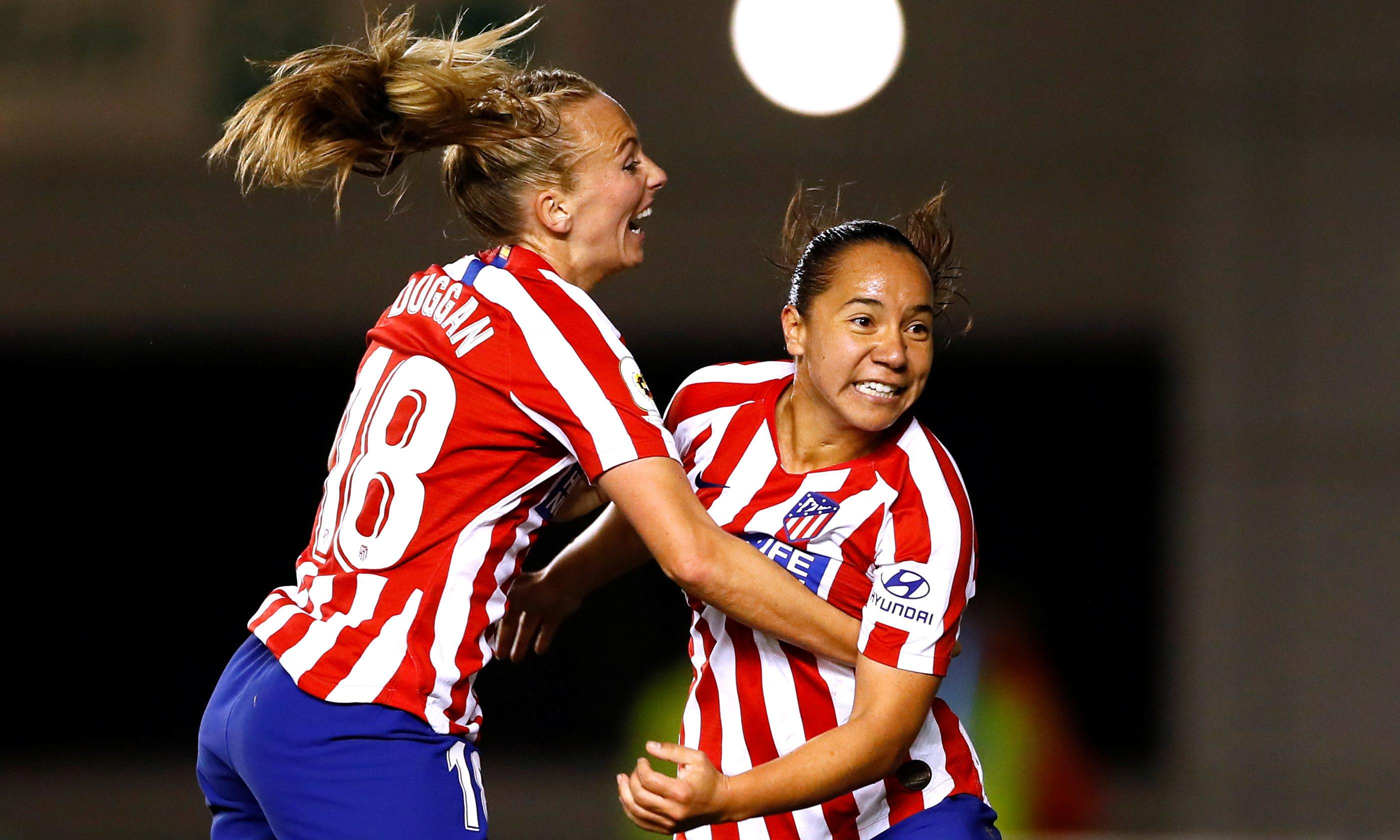 Charlyn Corral gives Atlético Madrid upper hand against Manchester City