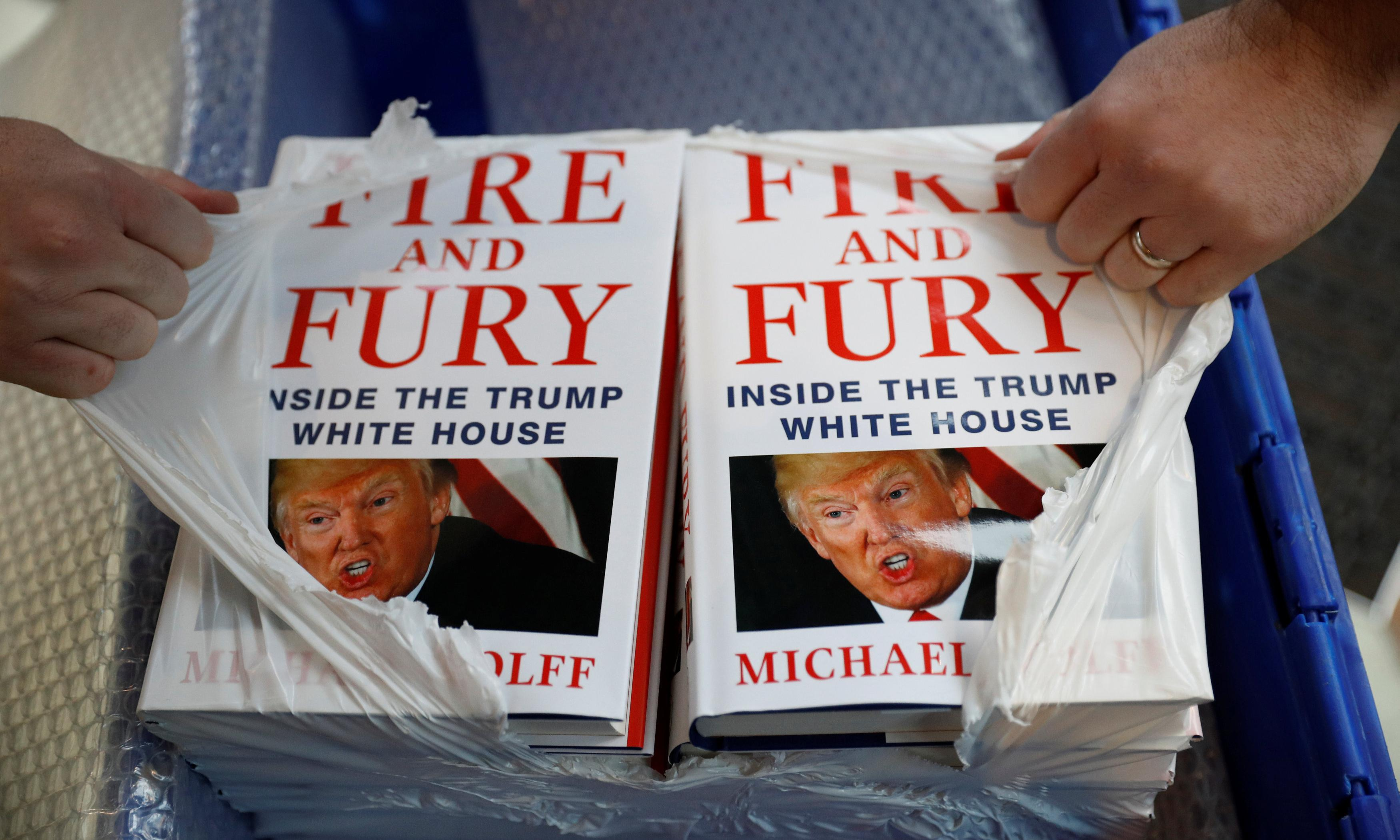 'Stratospheric' political book sales almost double in two years