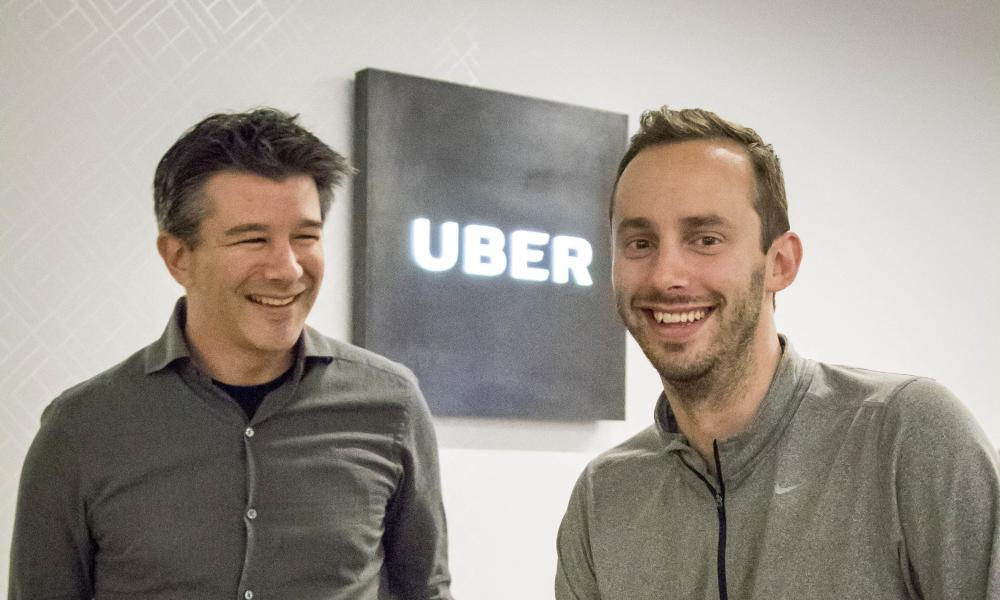 Travis Kalanick, CEO of Uber.
