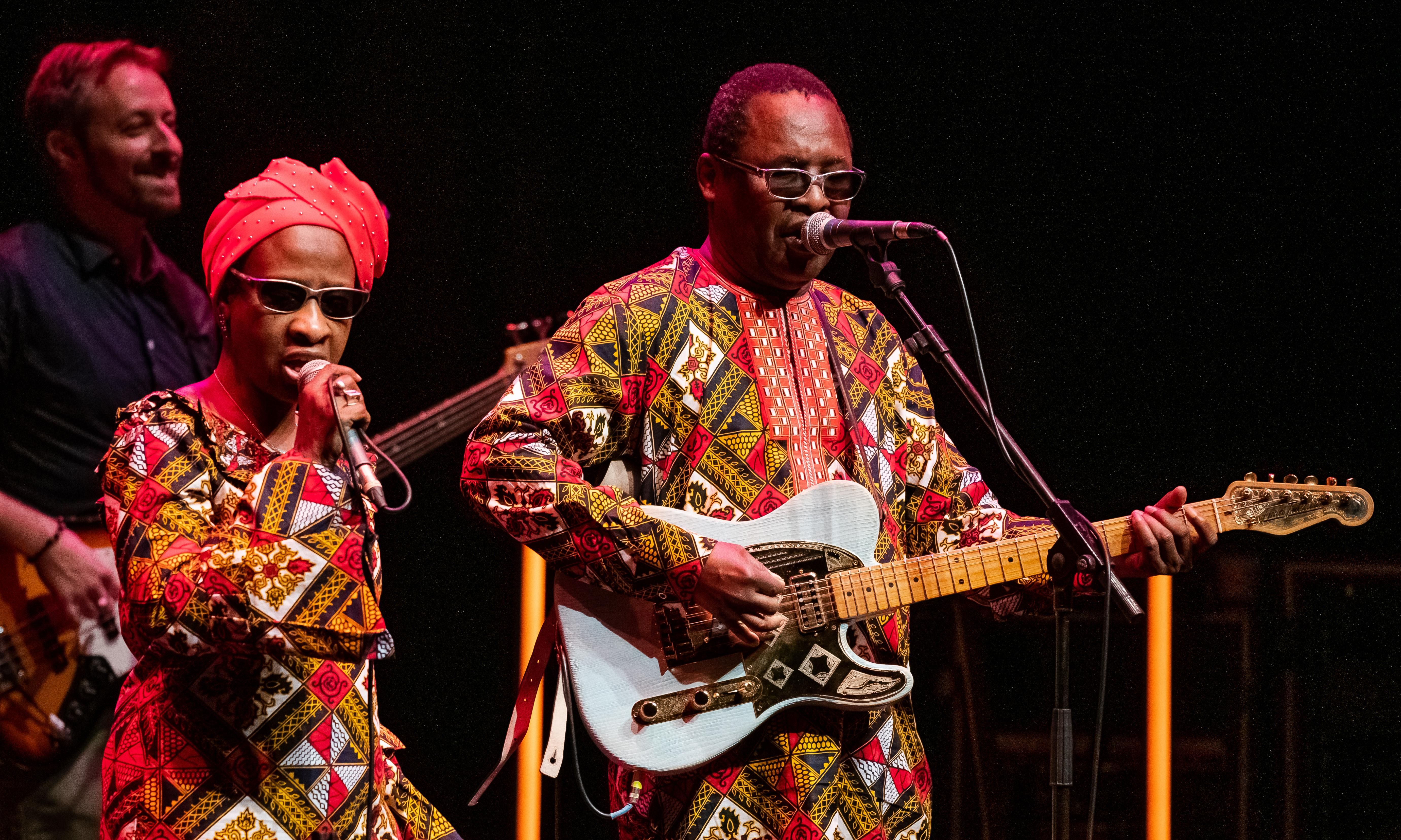 Amadou and Mariam; the Blind Boys of Alabama review – soulful energy