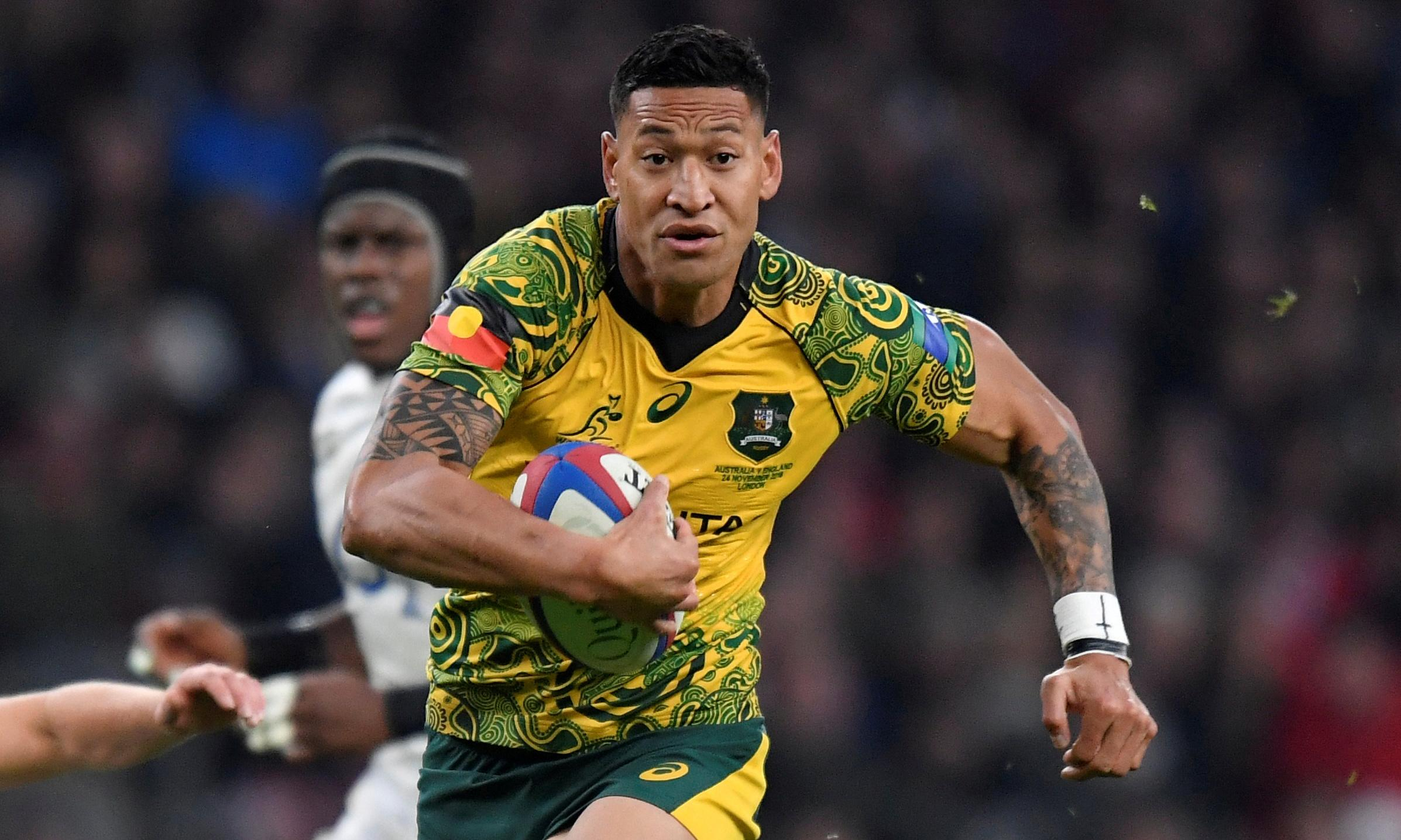 Israel Folau under fire for implying bushfires are God's punishment