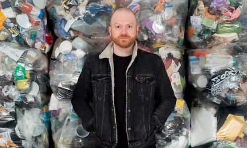 Daniel Webb, founder of Everyday Plastic