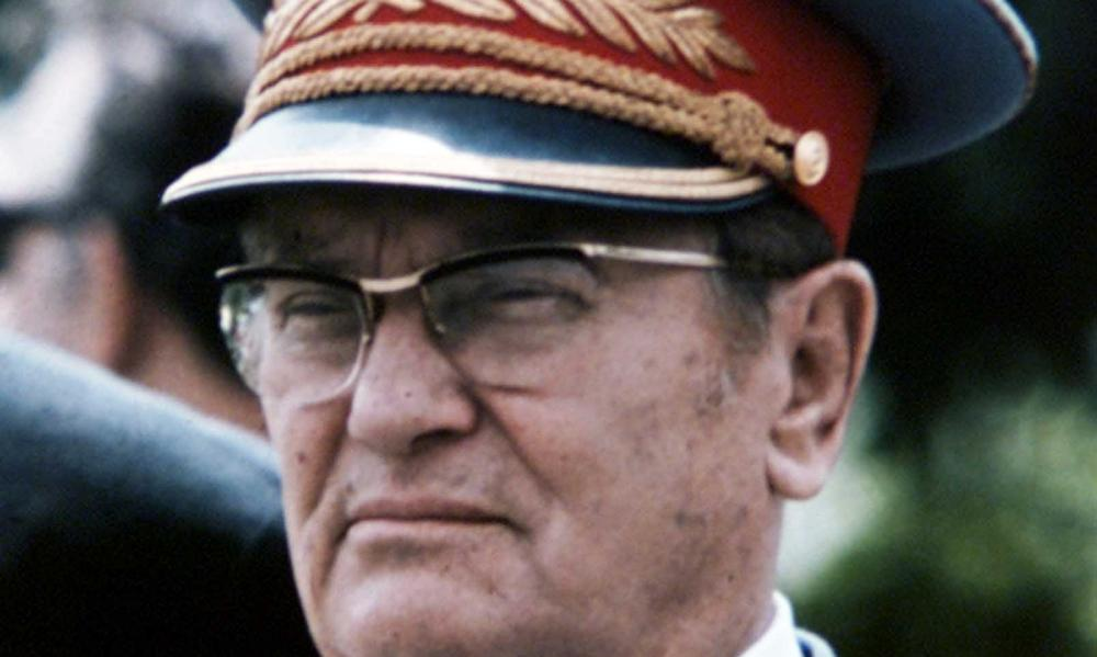 Marshal Tito, former leader of Yugoslavia.