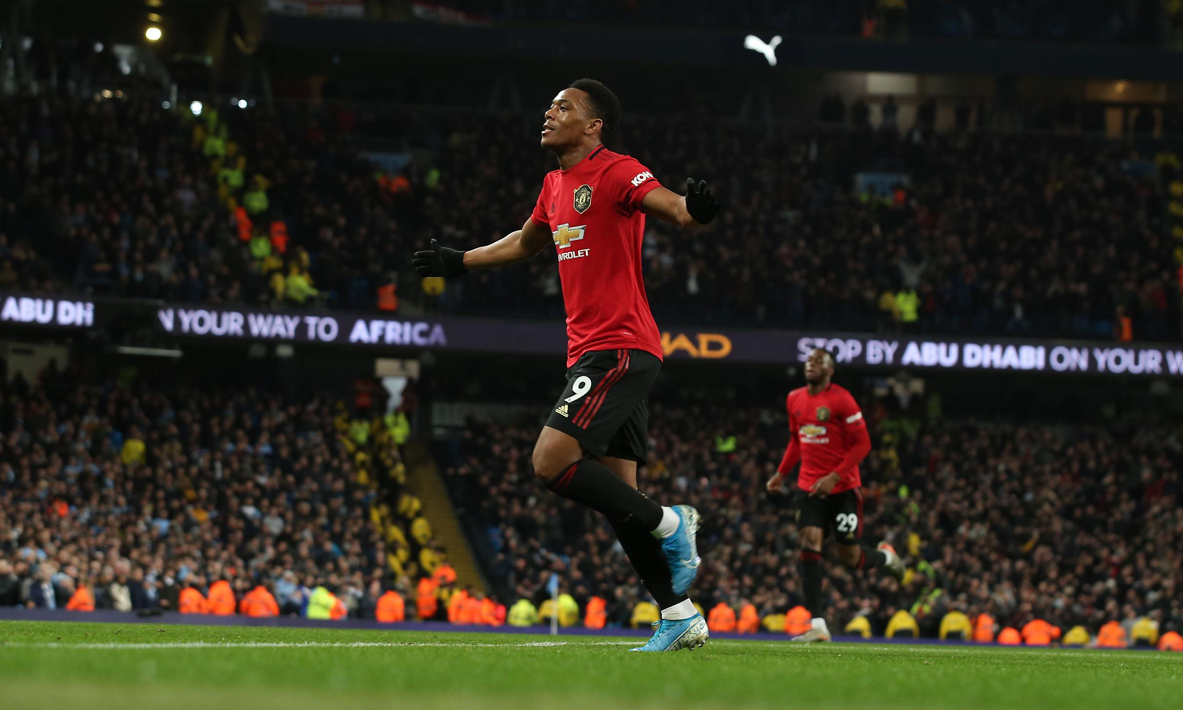 Rashford and Martial give Manchester United derby honours against City