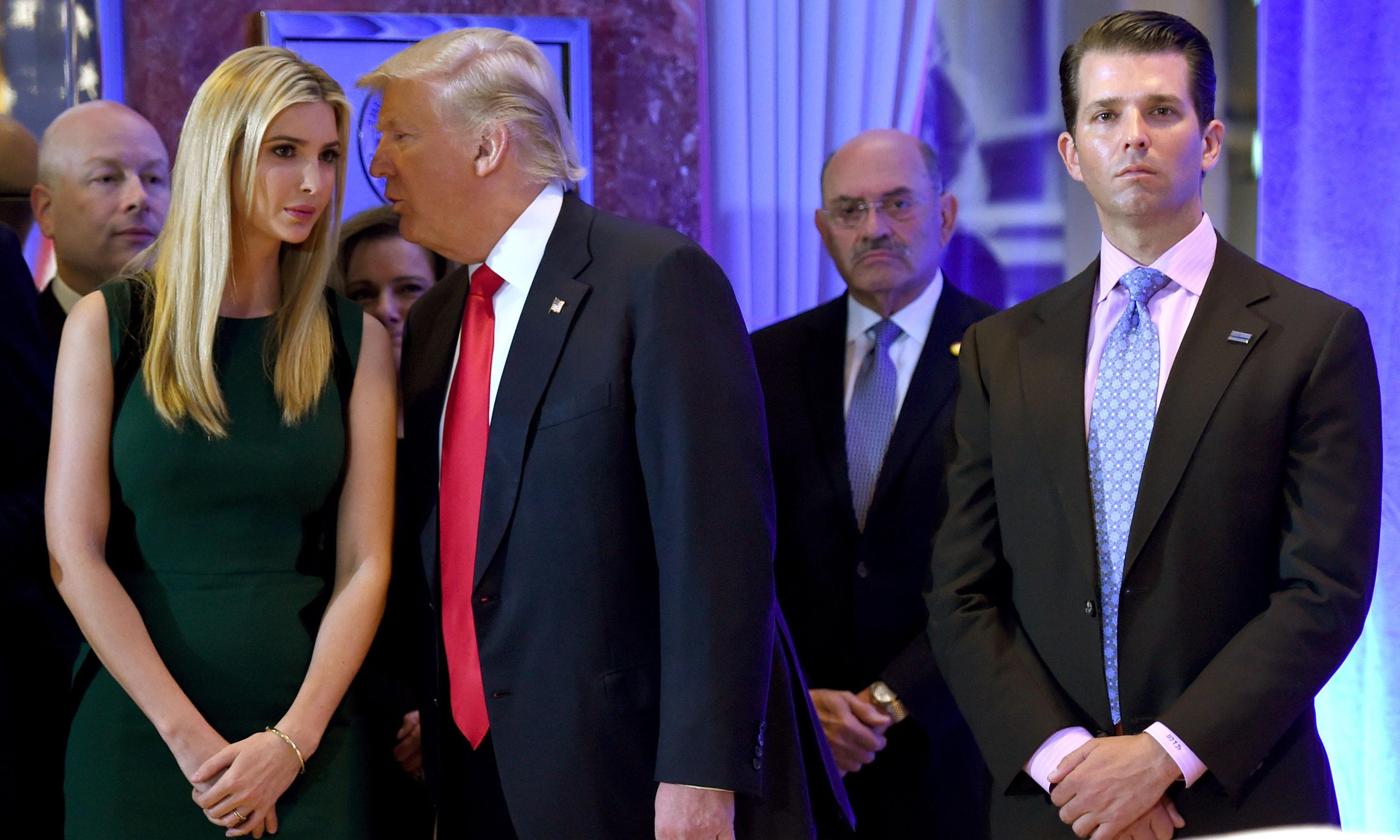 US briefing: Trump children, Hanoi fallout and the NRA's Russia links