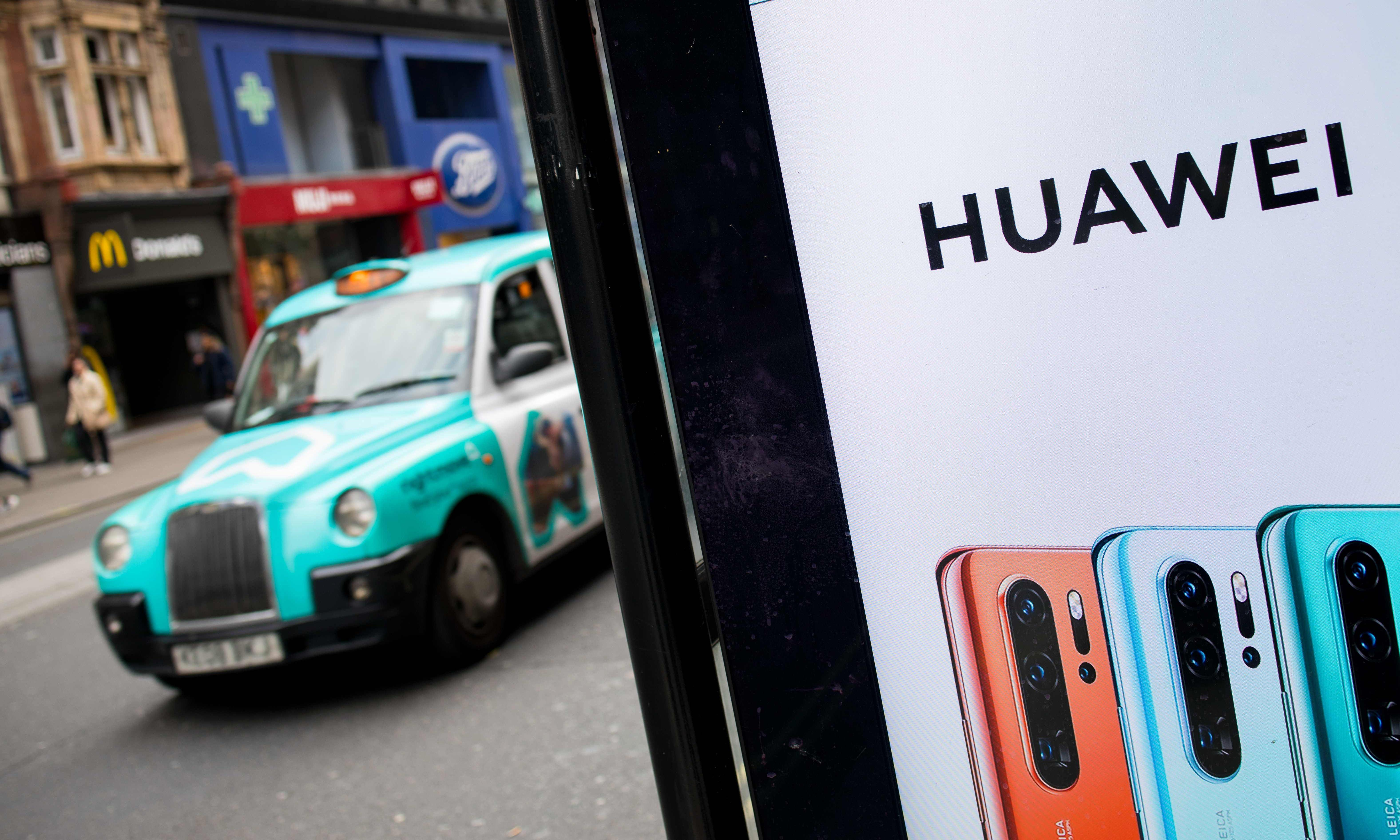 Huawei 'prepared to sign no-spy agreement with UK government'