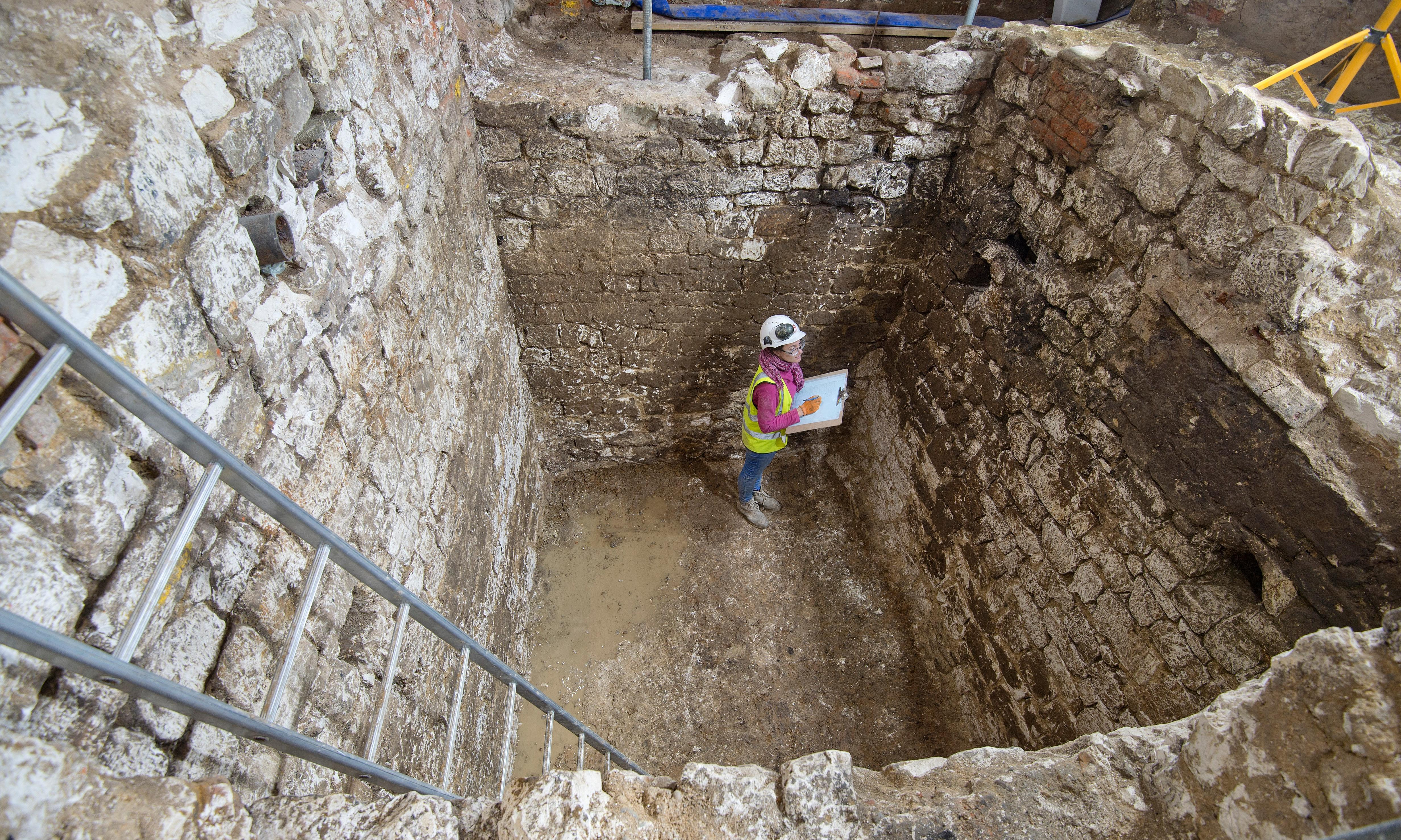 Medieval treasures uncovered – from the sludge of a London cesspit