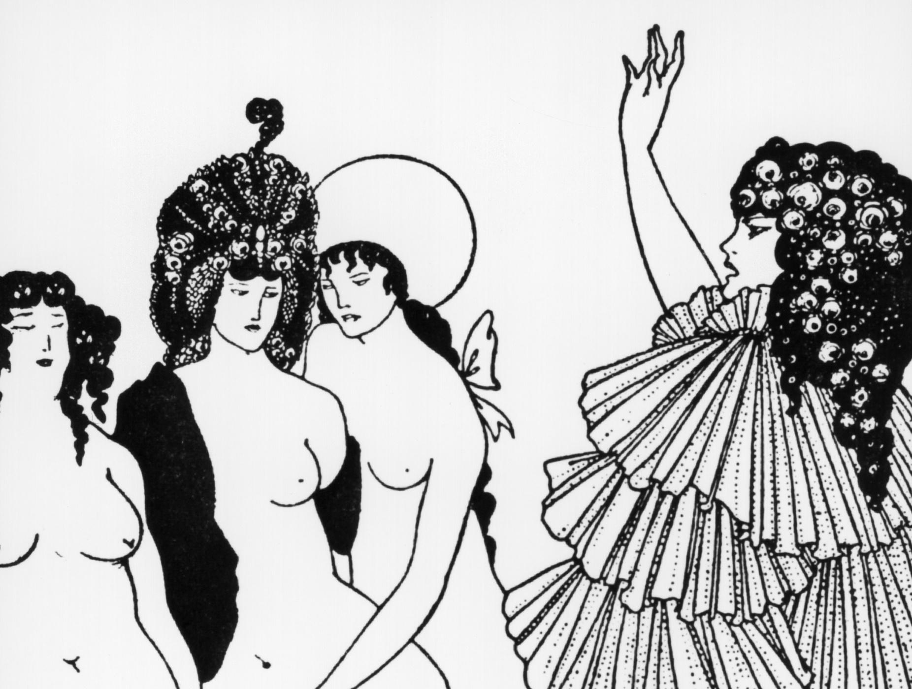 Erections, buttocks and beheadings: it's an Aubrey Beardsley blockbuster