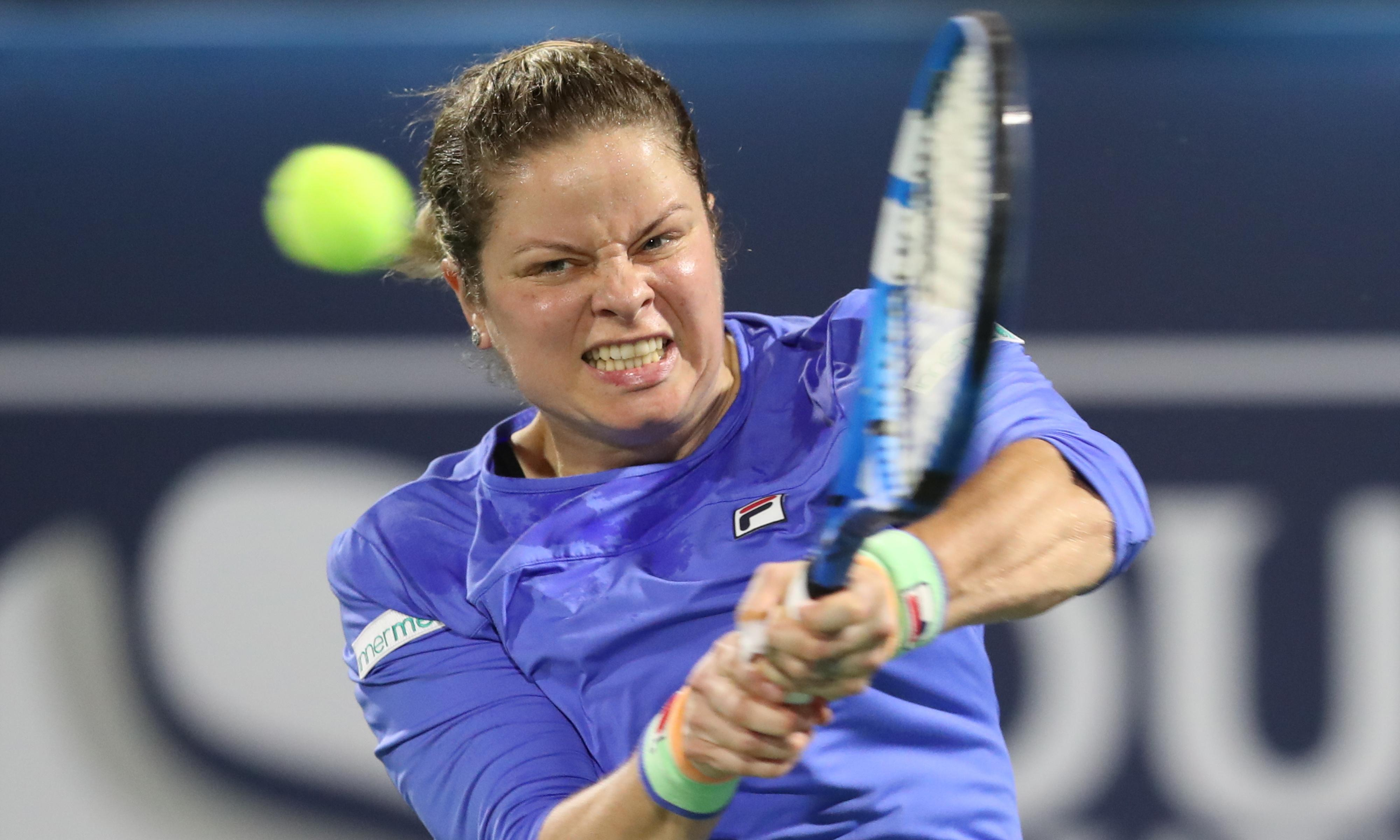 Kim Clijsters returns to tennis with renewed energy the overriding goal