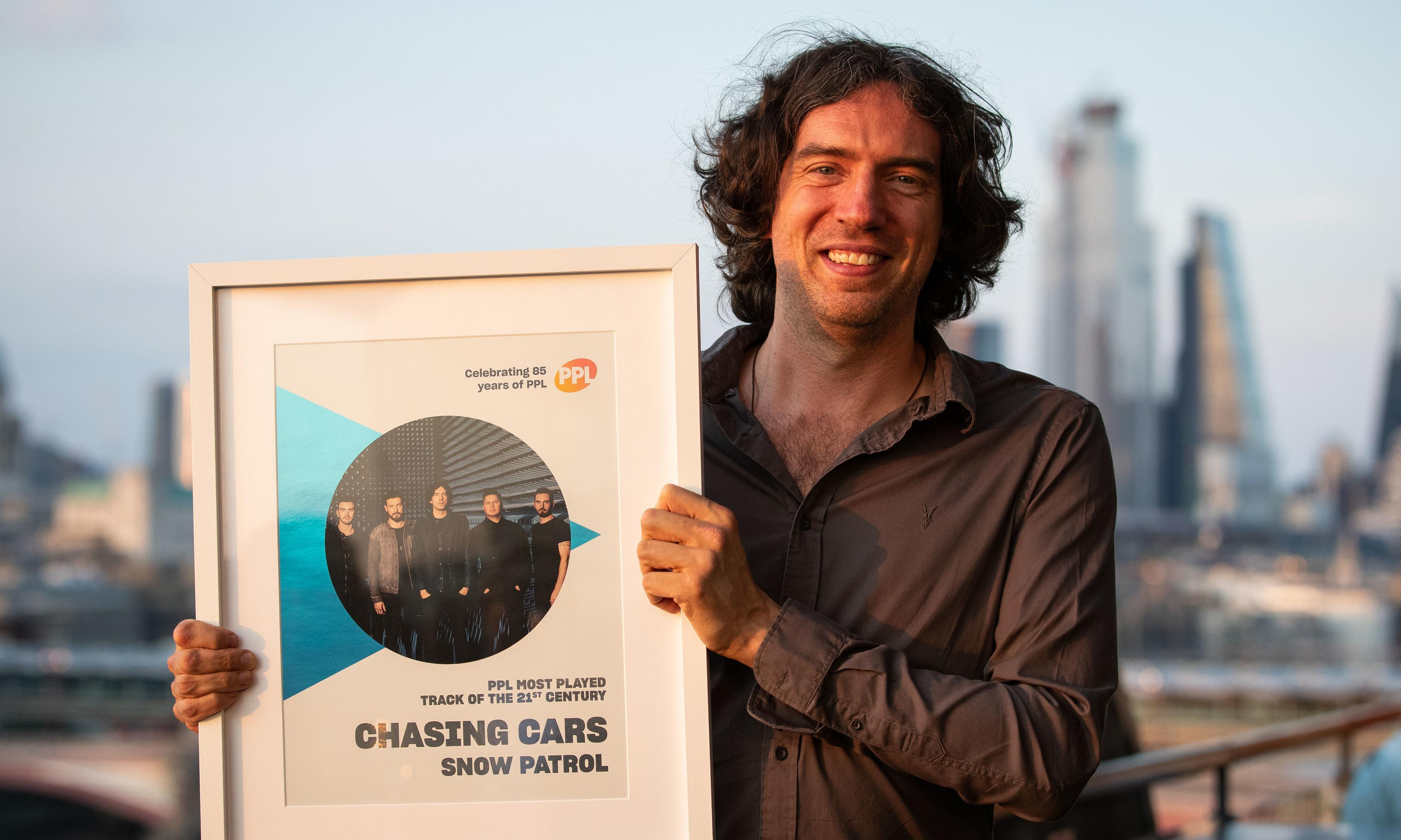 Chasing Cars by Snow Patrol is most-played song on UK radio this century