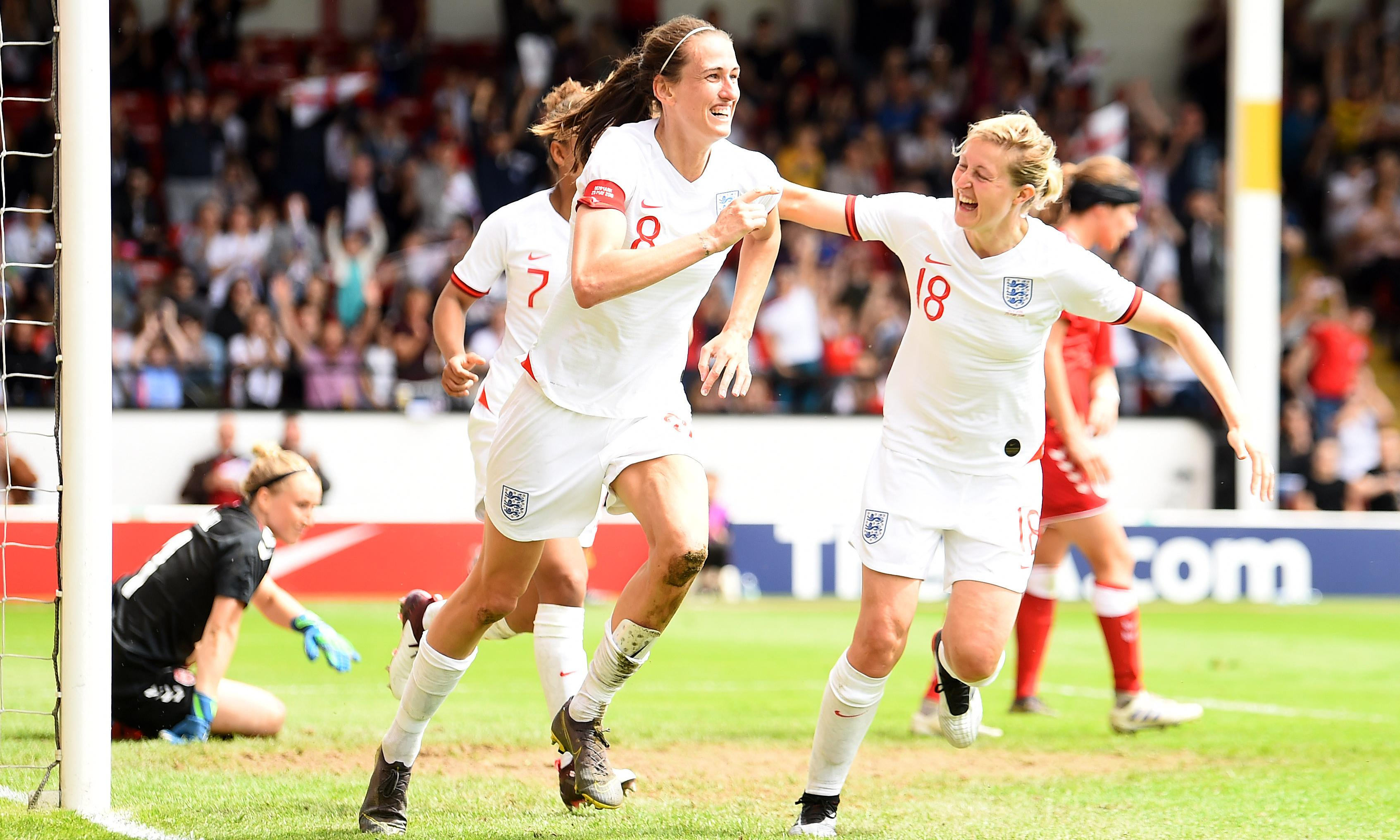 Nikita Parris and Jill Scott give England timely boost against Denmark