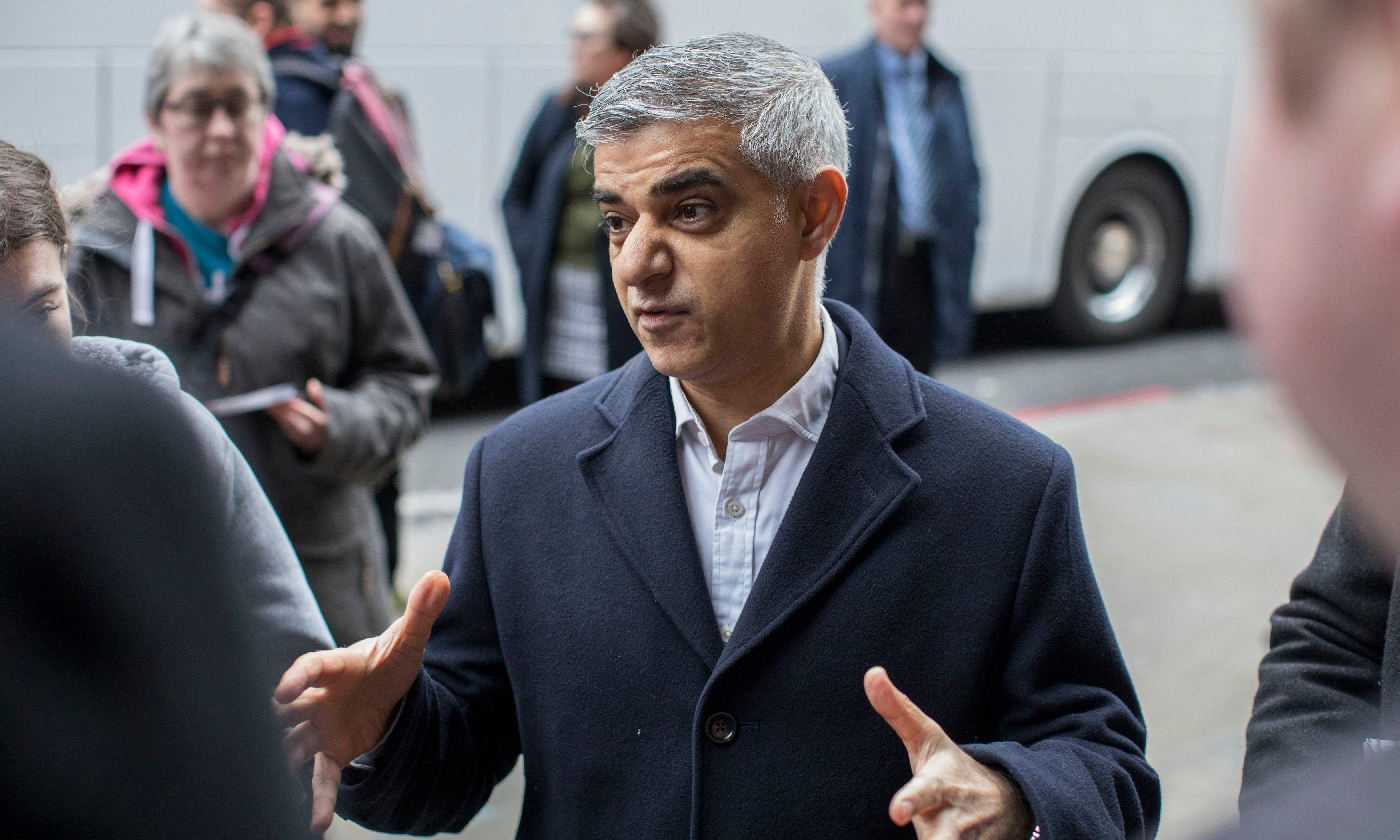 Sadiq Khan vows to make London carbon-neutral by 2030 if re-elected
