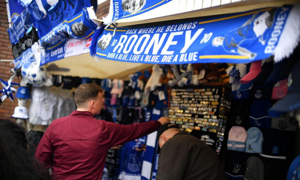 Everton merchandise