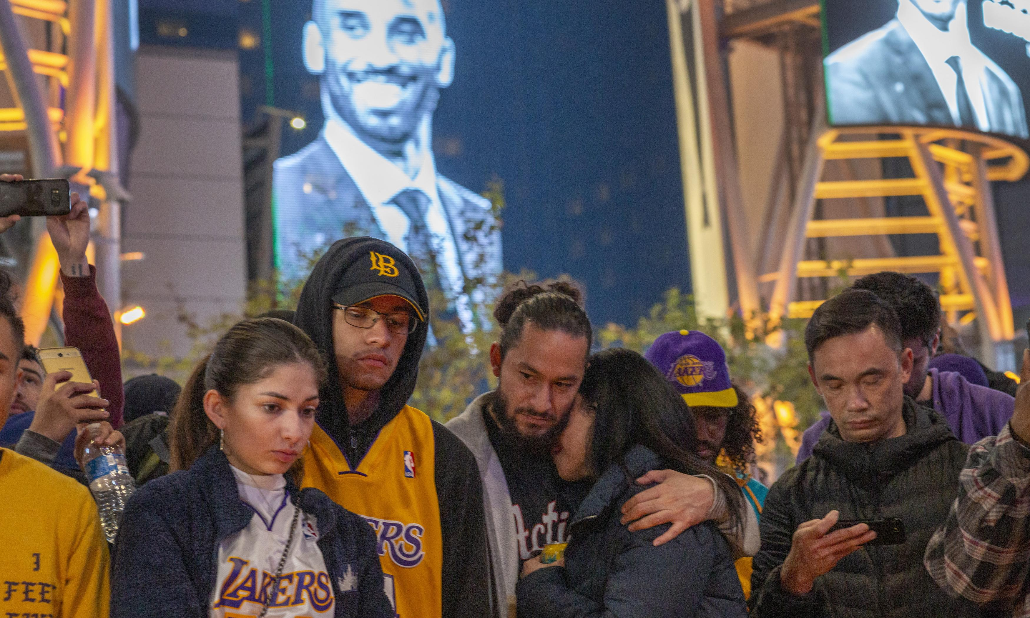 US briefing: remembering Kobe Bryant, Grammys and John Bolton's book