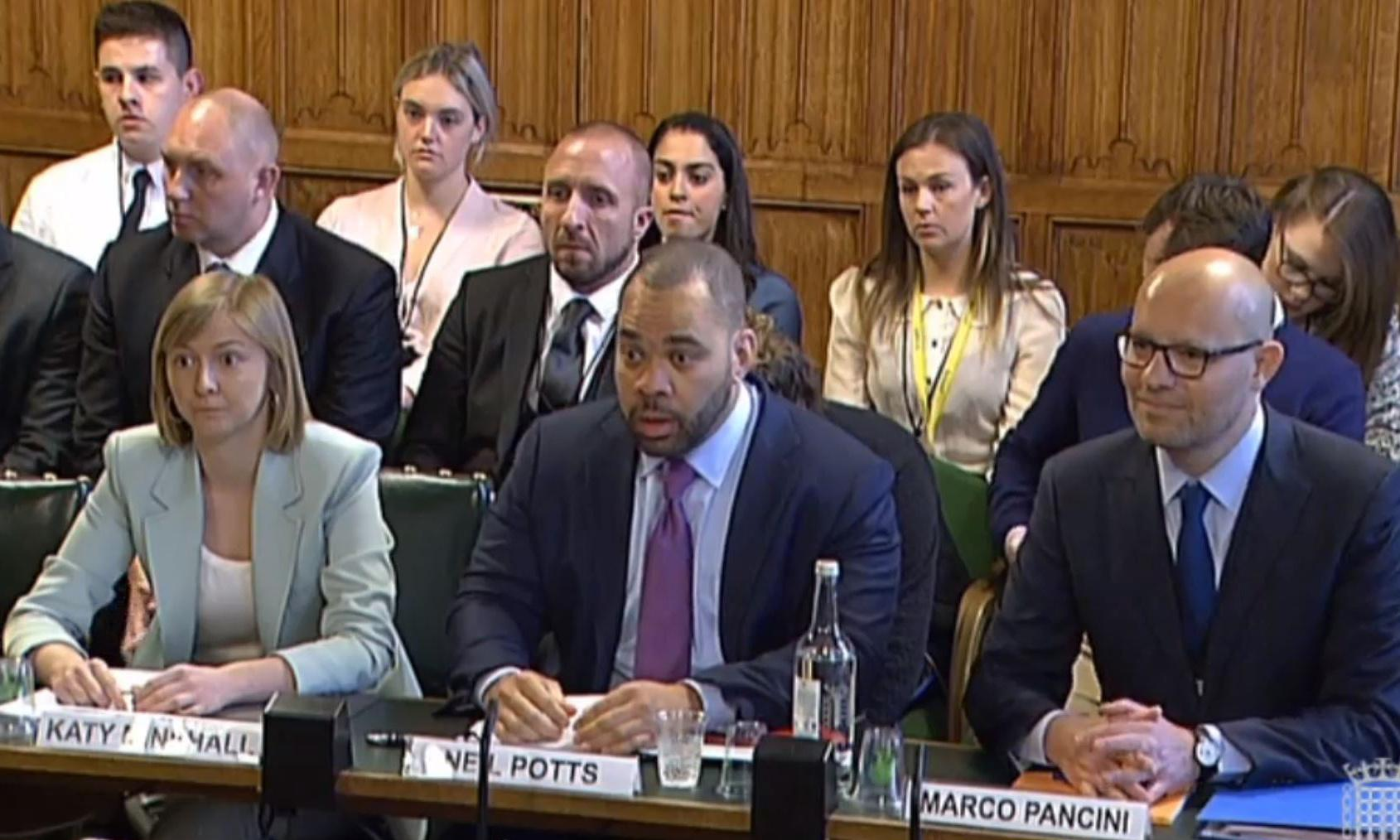 MPs criticise social media firms for failure to report criminal posts