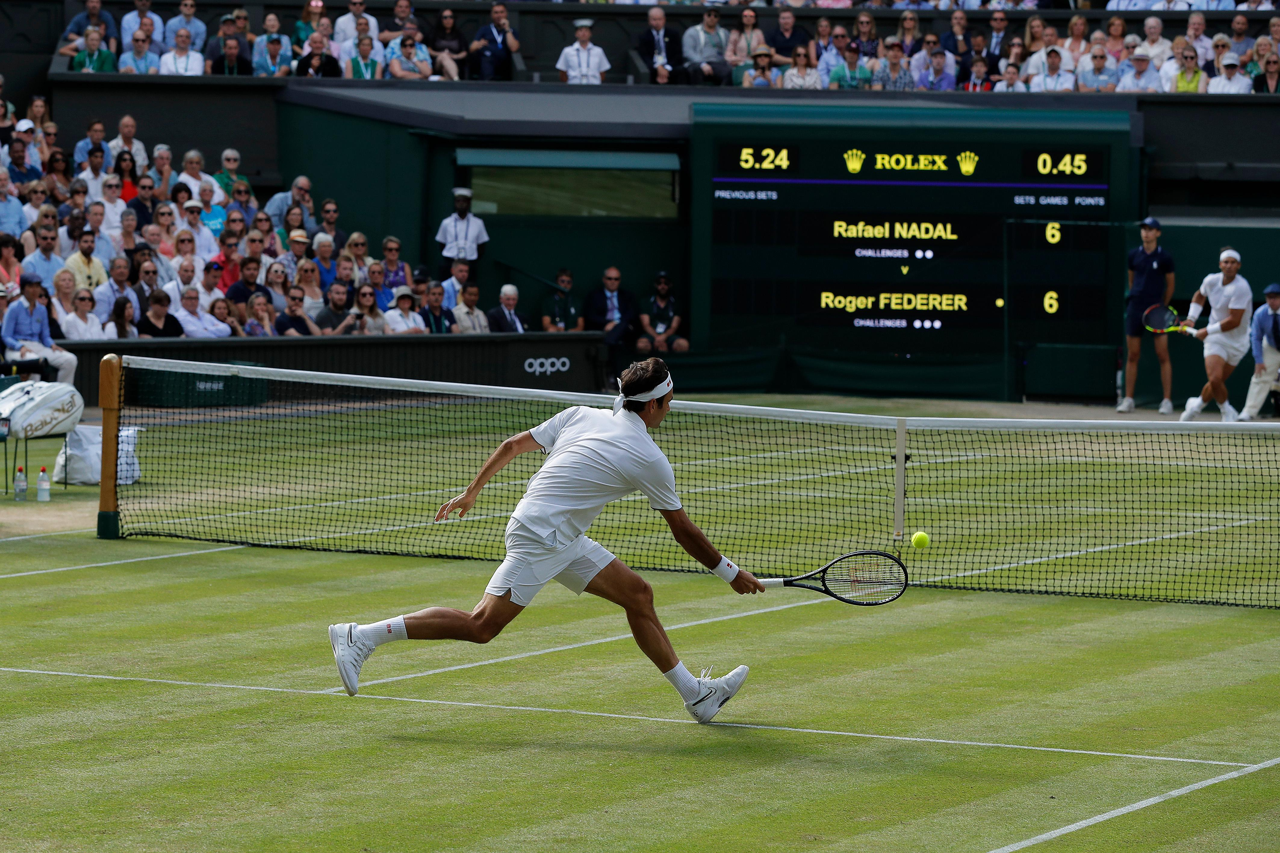 Federer and Nadal renew old rivalry and serve up a contest for the ages