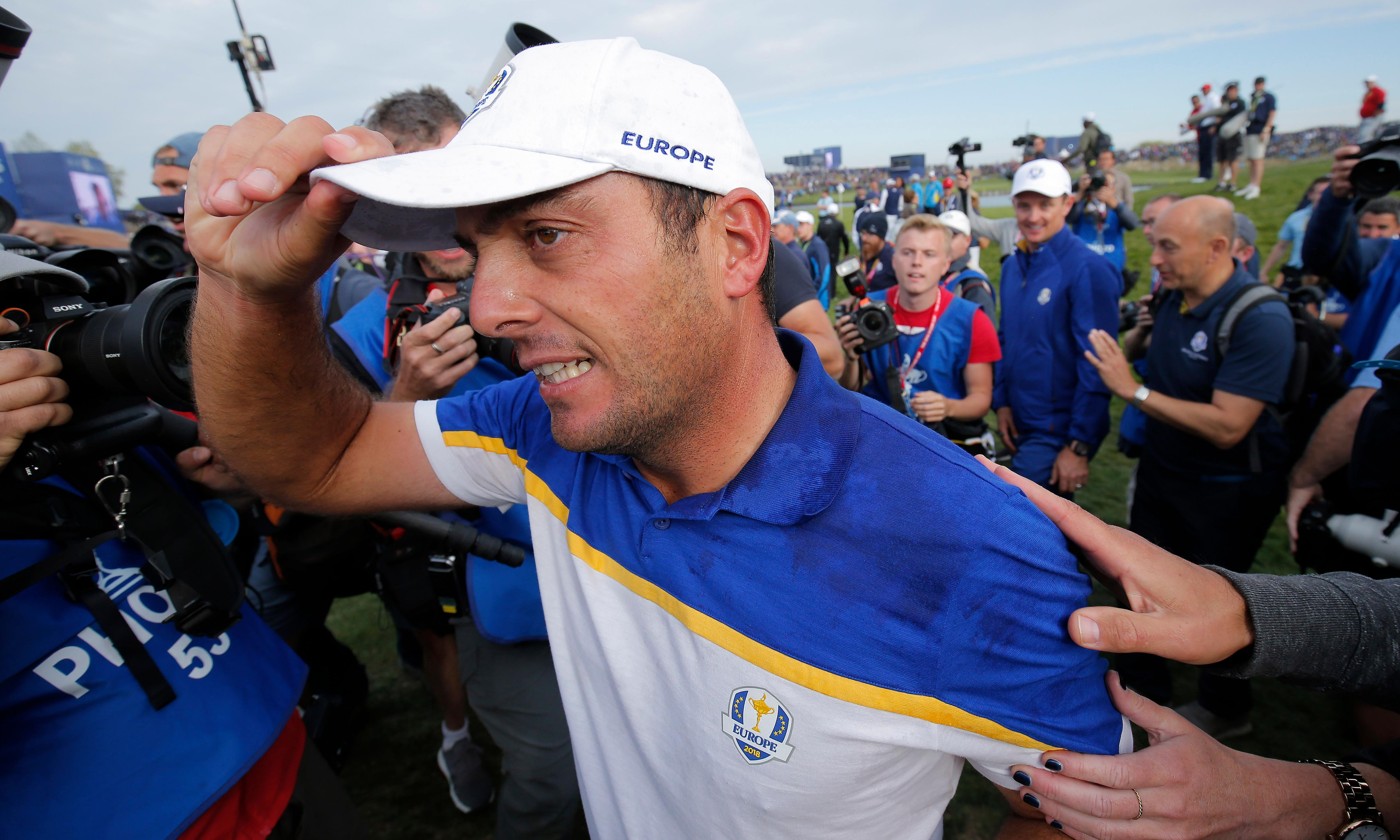 Shy and retiring Francesco Molinari sweeps clean in Ryder Cup rout