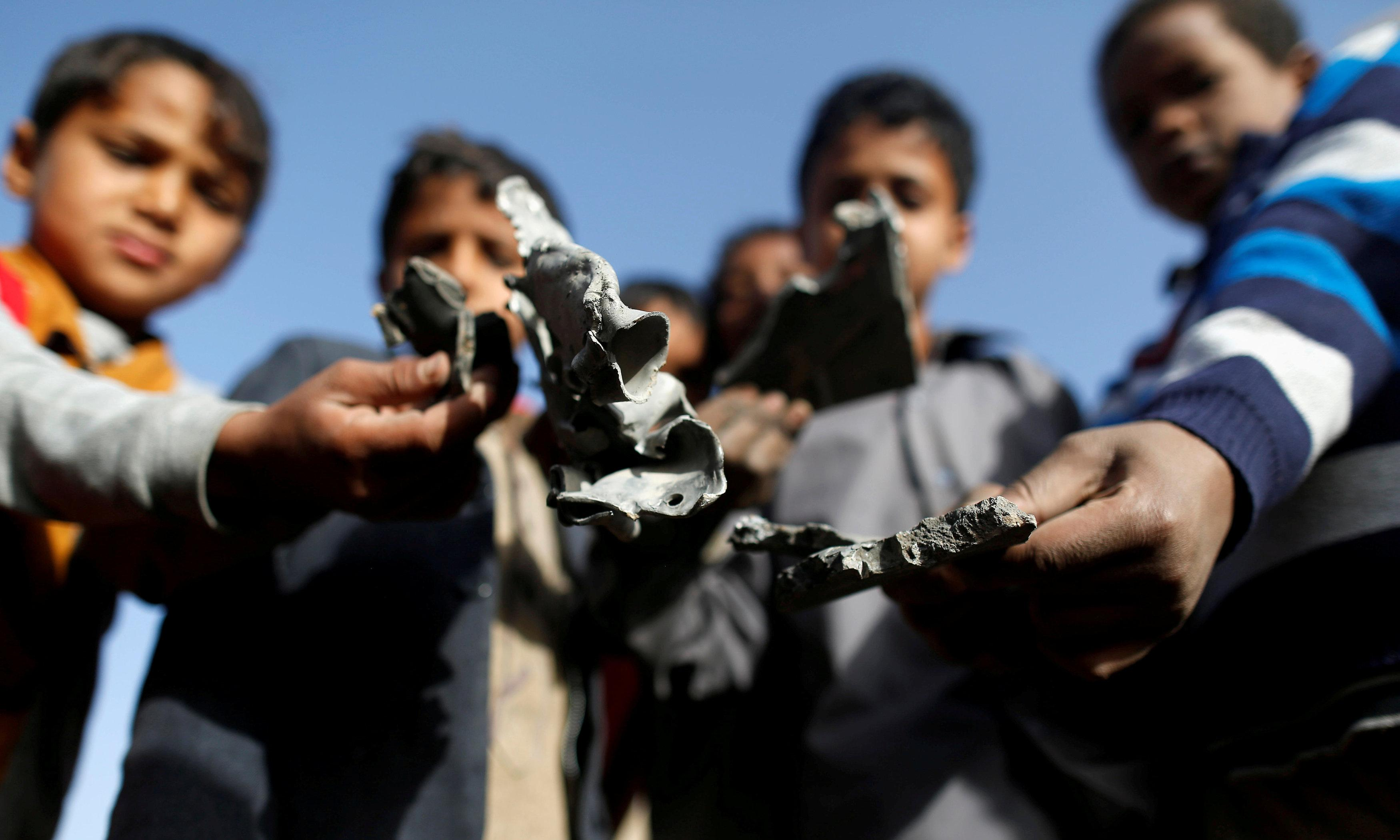 No guarantee Australian weapons aren't used in Yemen conflict, government says