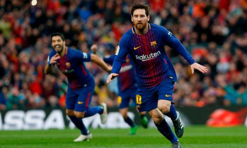 Lionel Messi's free-kick sends Barcelona eight points clear of Atlético  Madrid