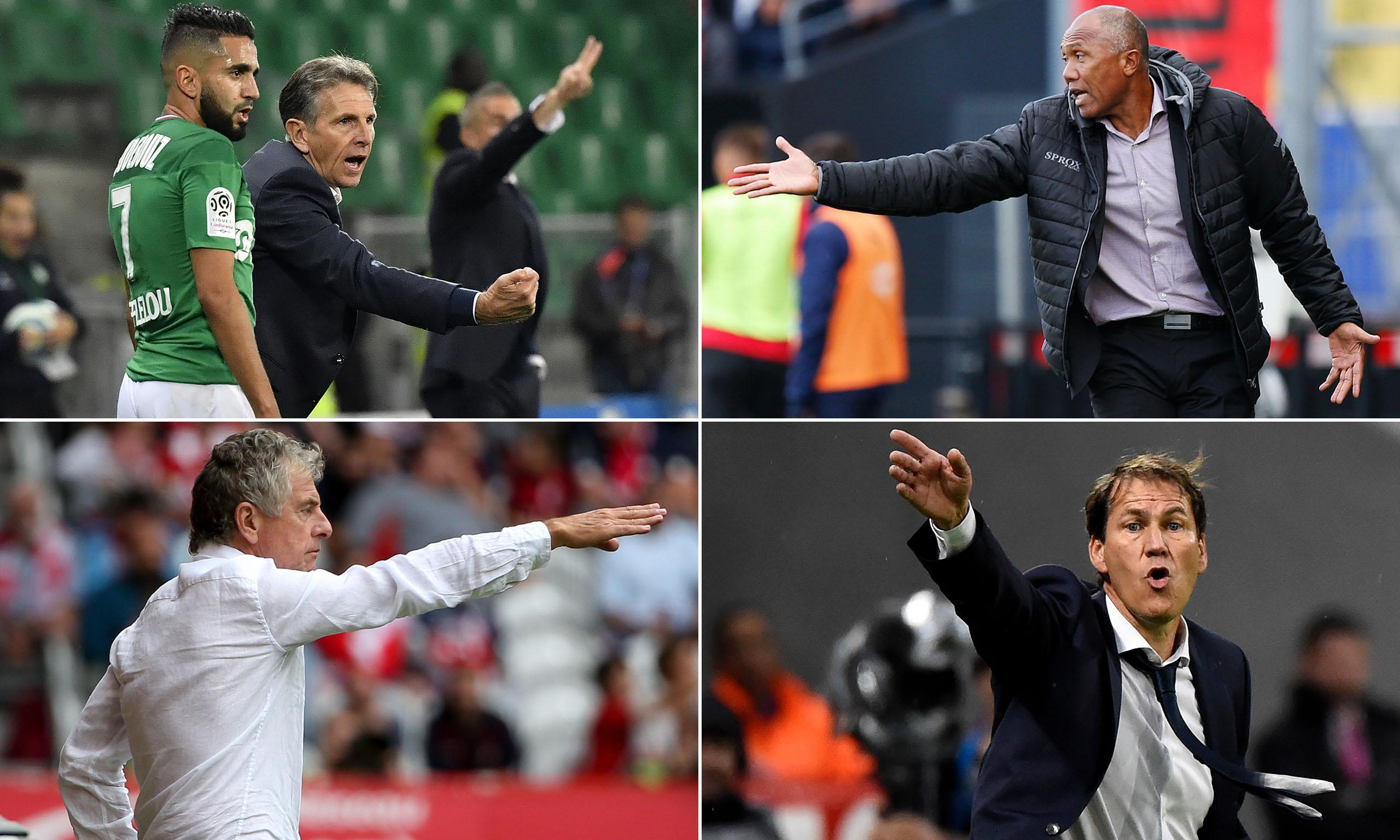 Ligue 1 clubs turn to experienced French managers to right wrongs