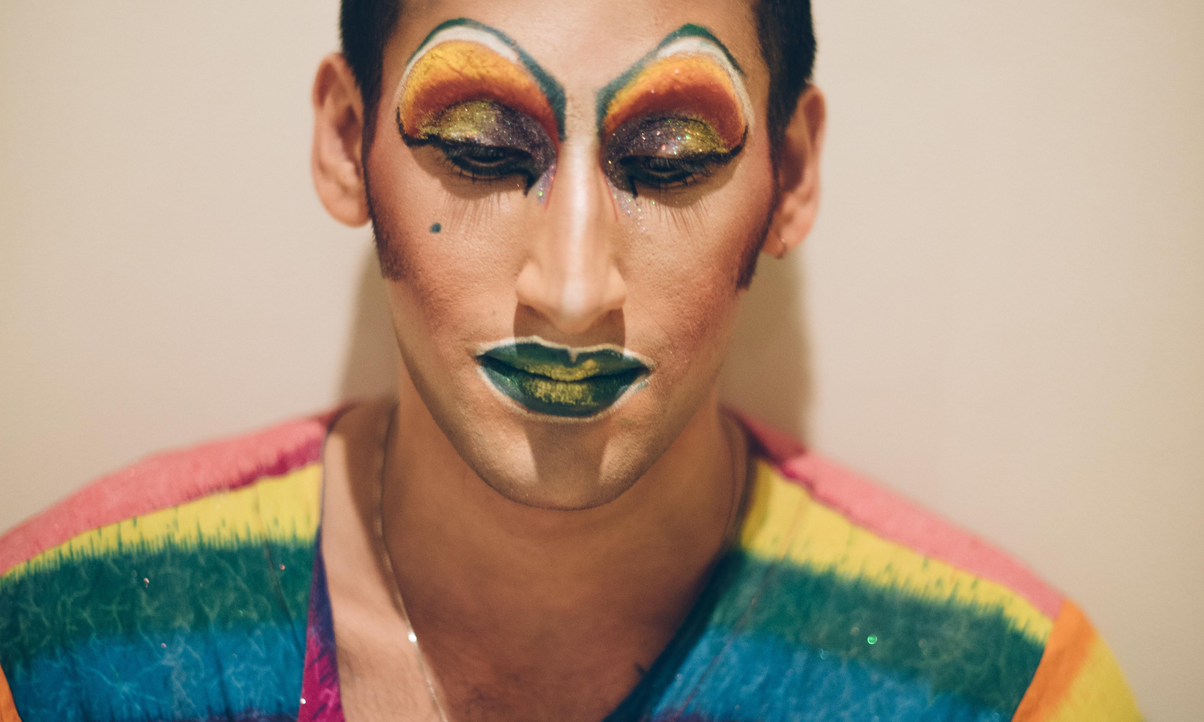 Amrou Al-Kadhi: 'Being a drag queen healed me'
