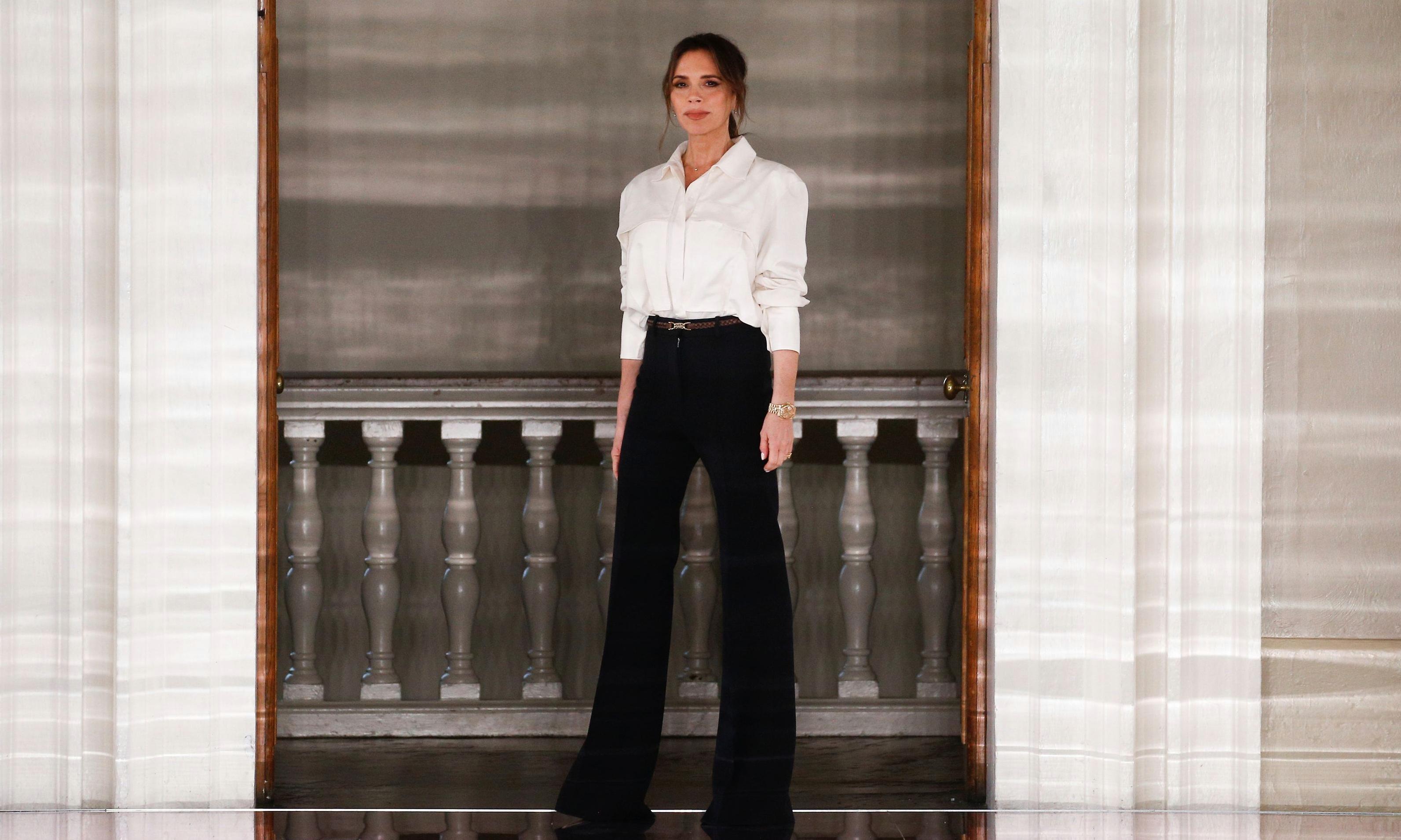 Victoria Beckham starts a quiet hemline revolution at London fashion week