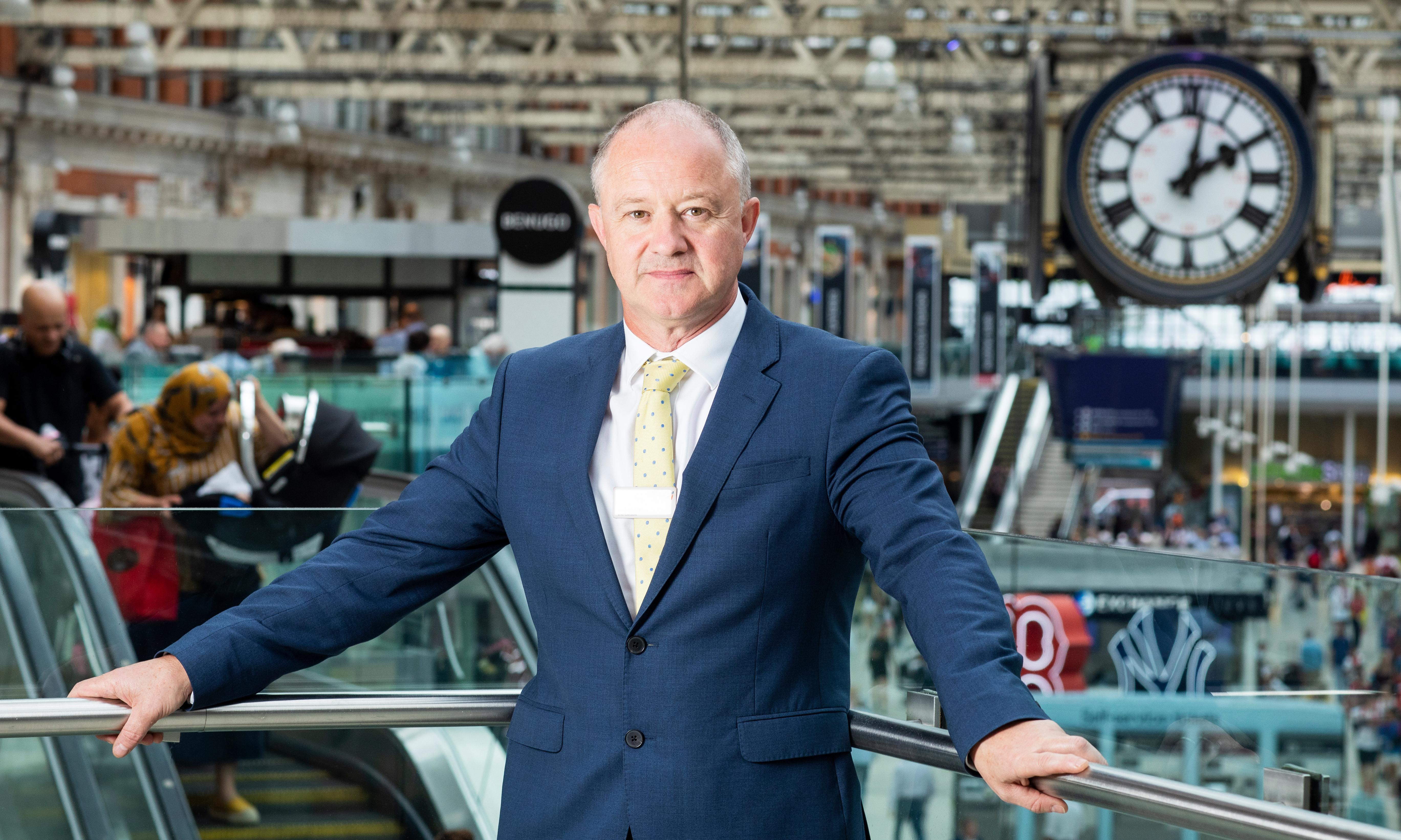 Network Rail's Andrew Haines: 'We've stopped the rot a bit'