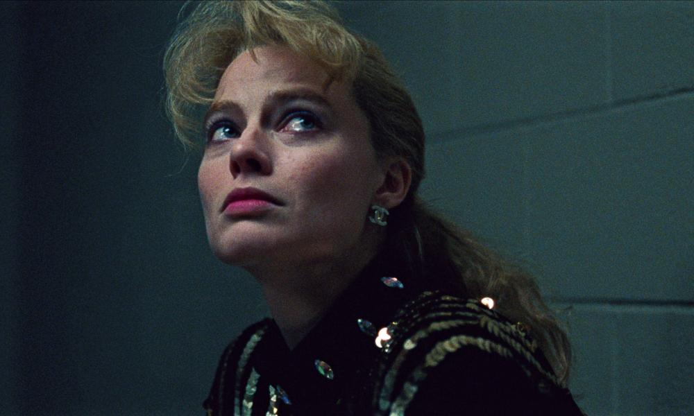 Margot Robbie in I, Tonya.