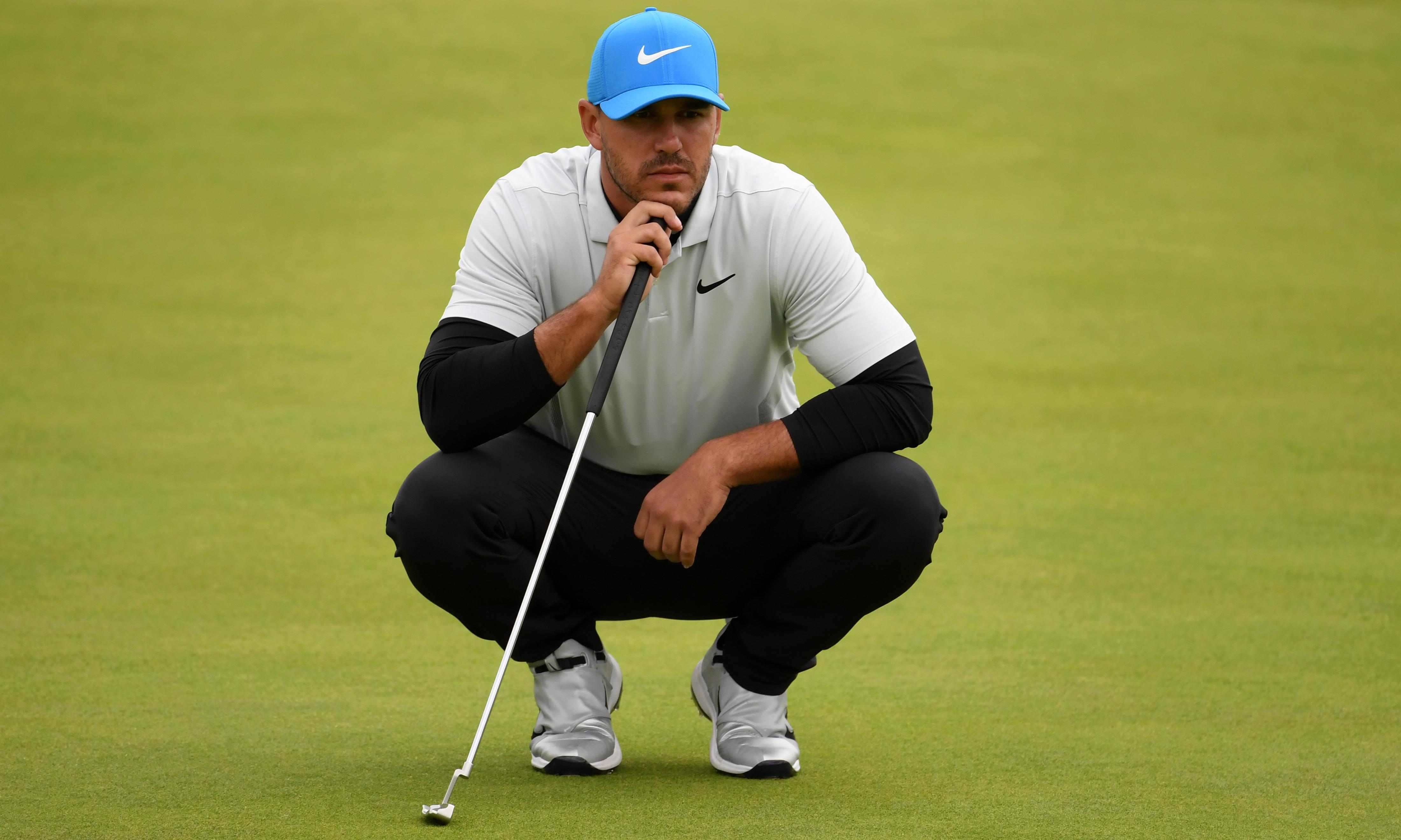 Brooks Koepka insists he can win the Open if he gets the rub of the green