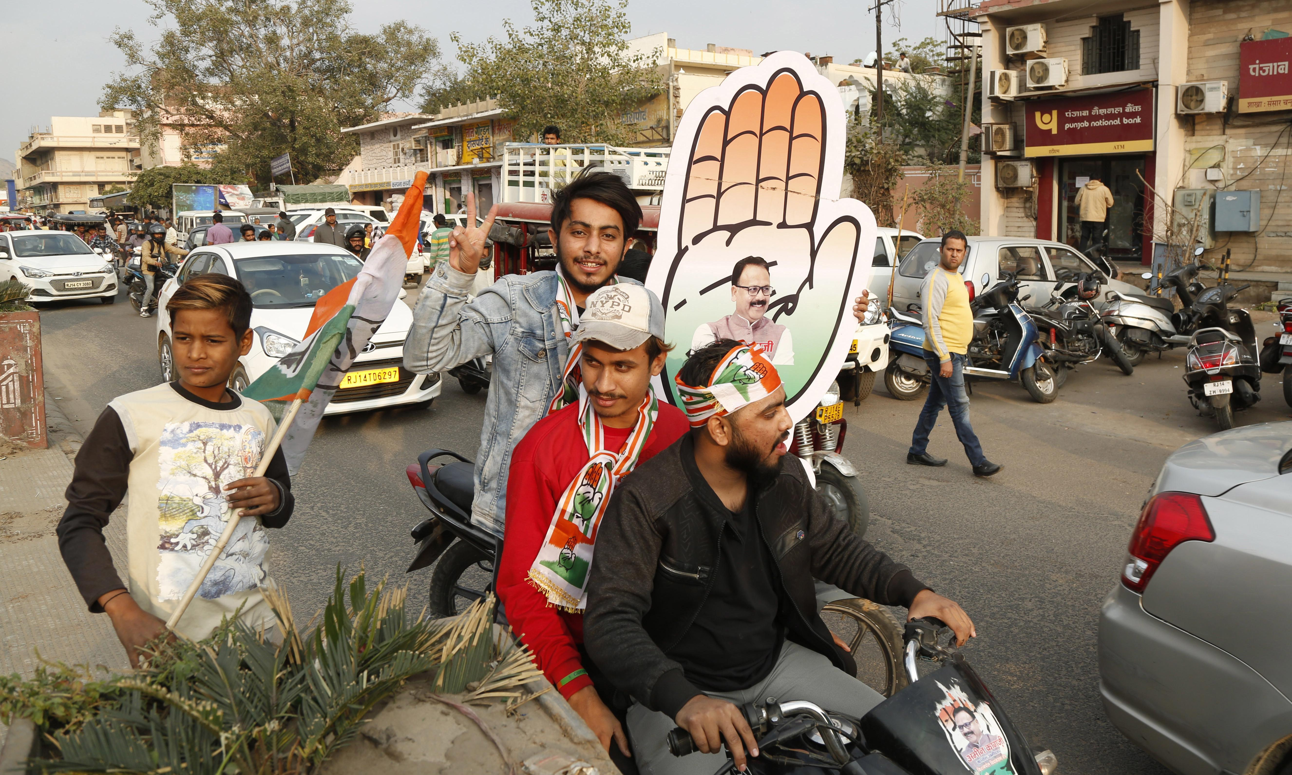Cow and happiness ministers ousted in Indian state elections