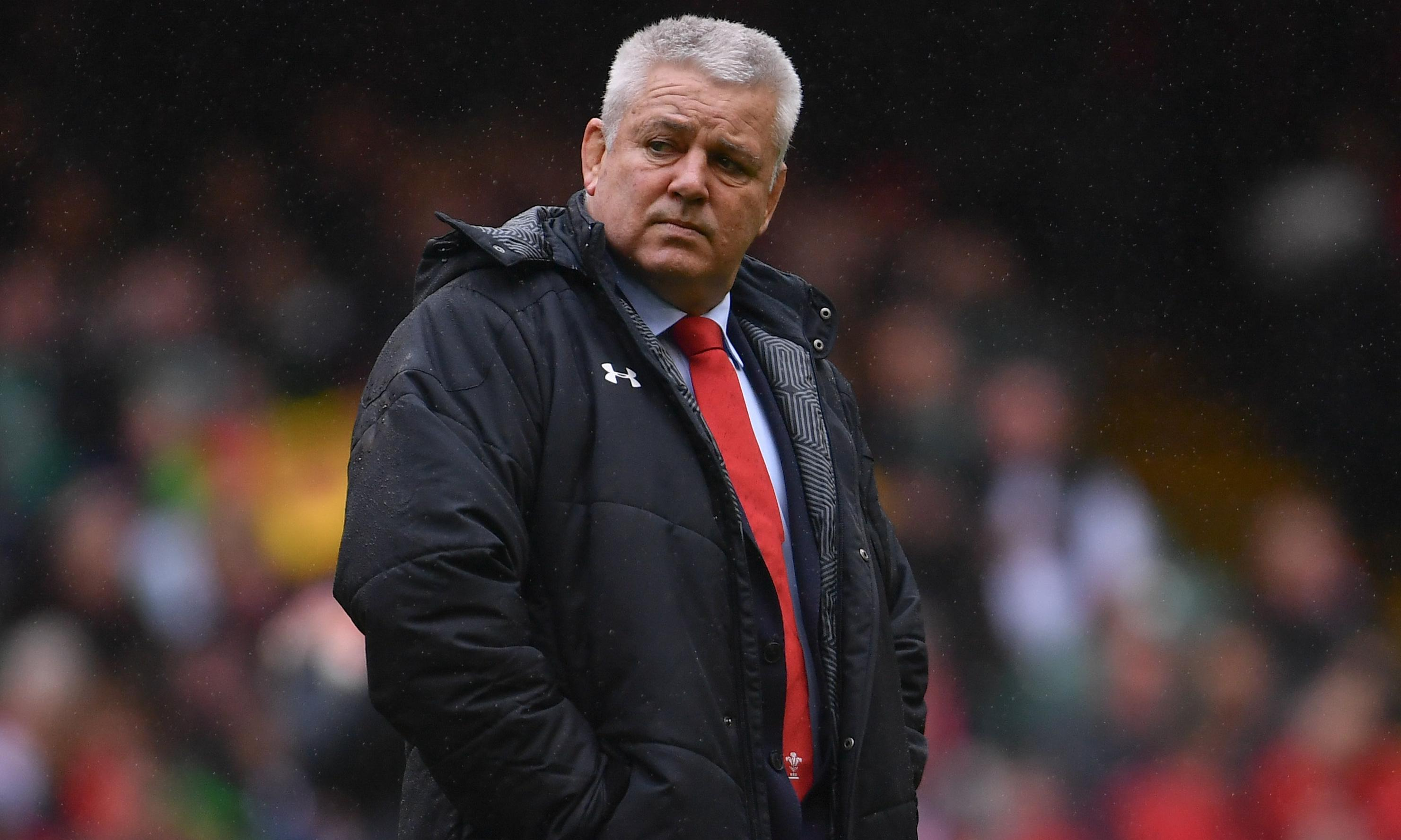 Warren Gatland's first match after leaving Wales will be against Wales