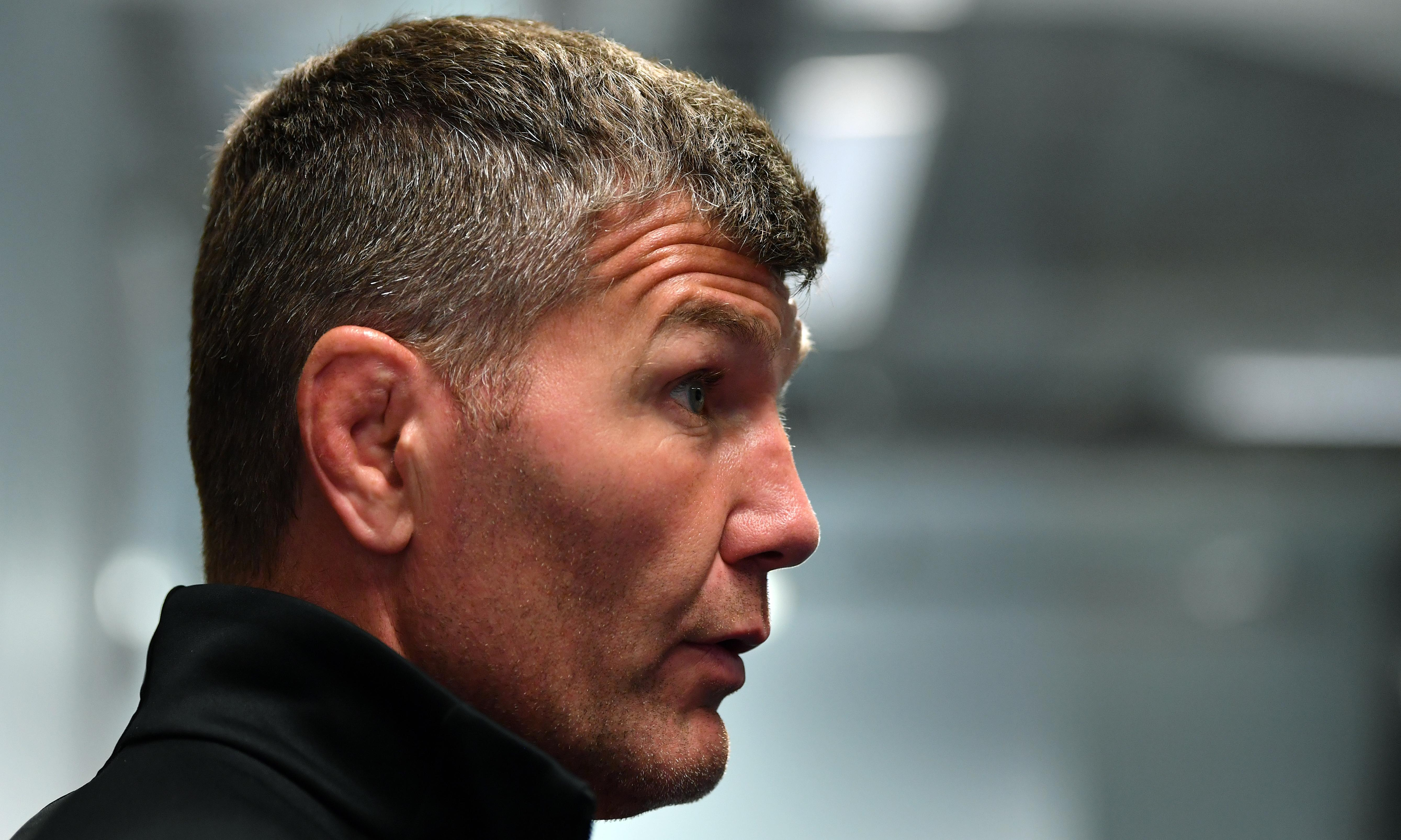 Rob Baxter warns Exeter players over social media dangers