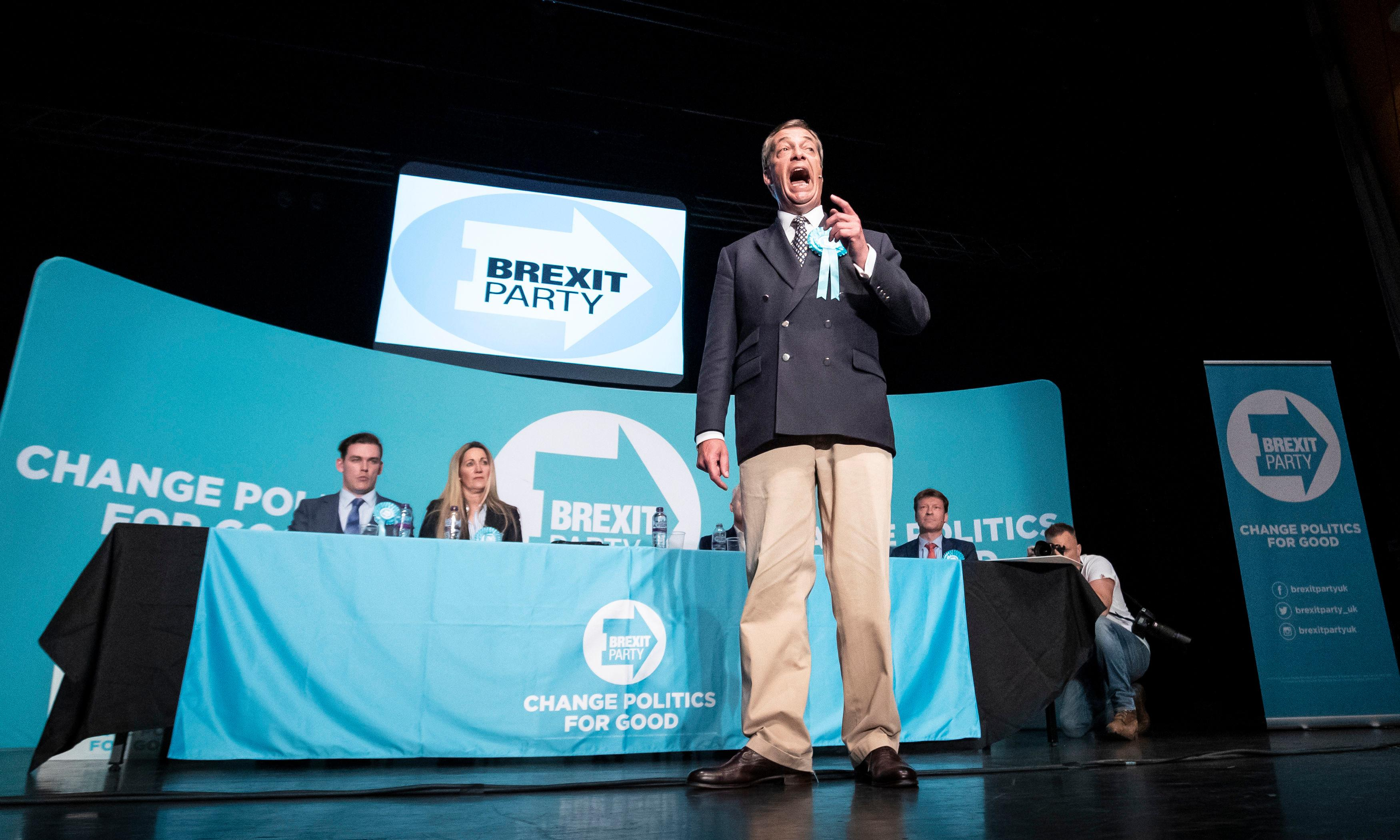 He's part Mel Gibson and part Norman Wisdom. Who needs a manifesto if you've got Nigel Farage?