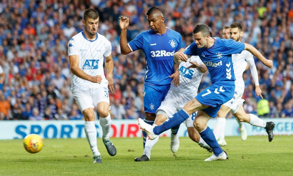 Jamie Murphy gives Rangers a 1-0 win.
