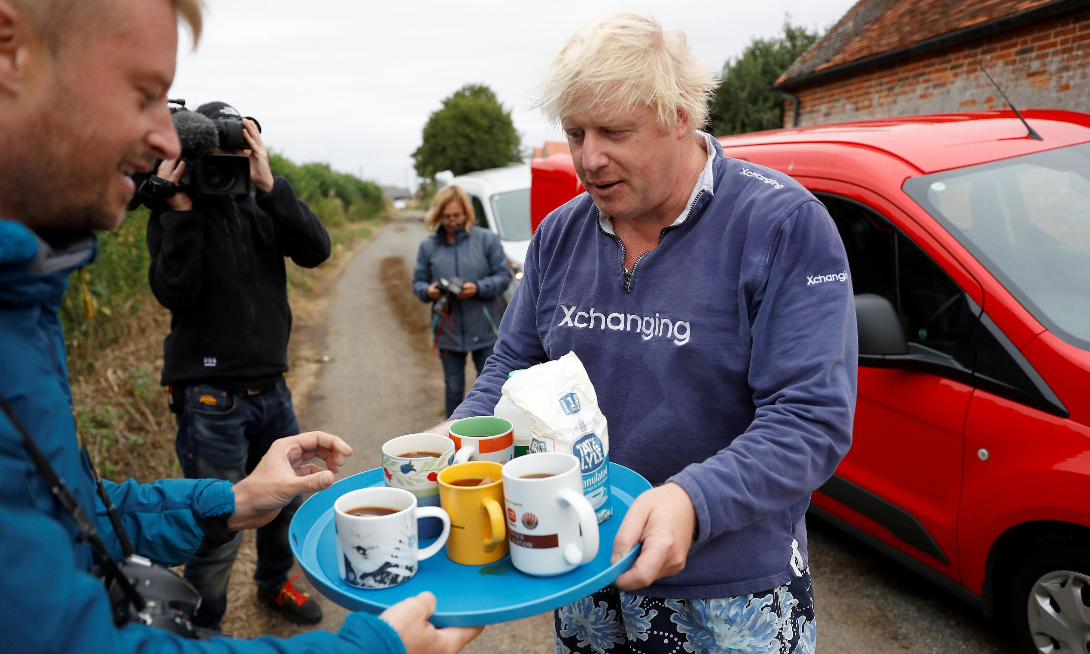 Prime Minister Boris Johnson? I'm sorry to say that I'm partly to blame