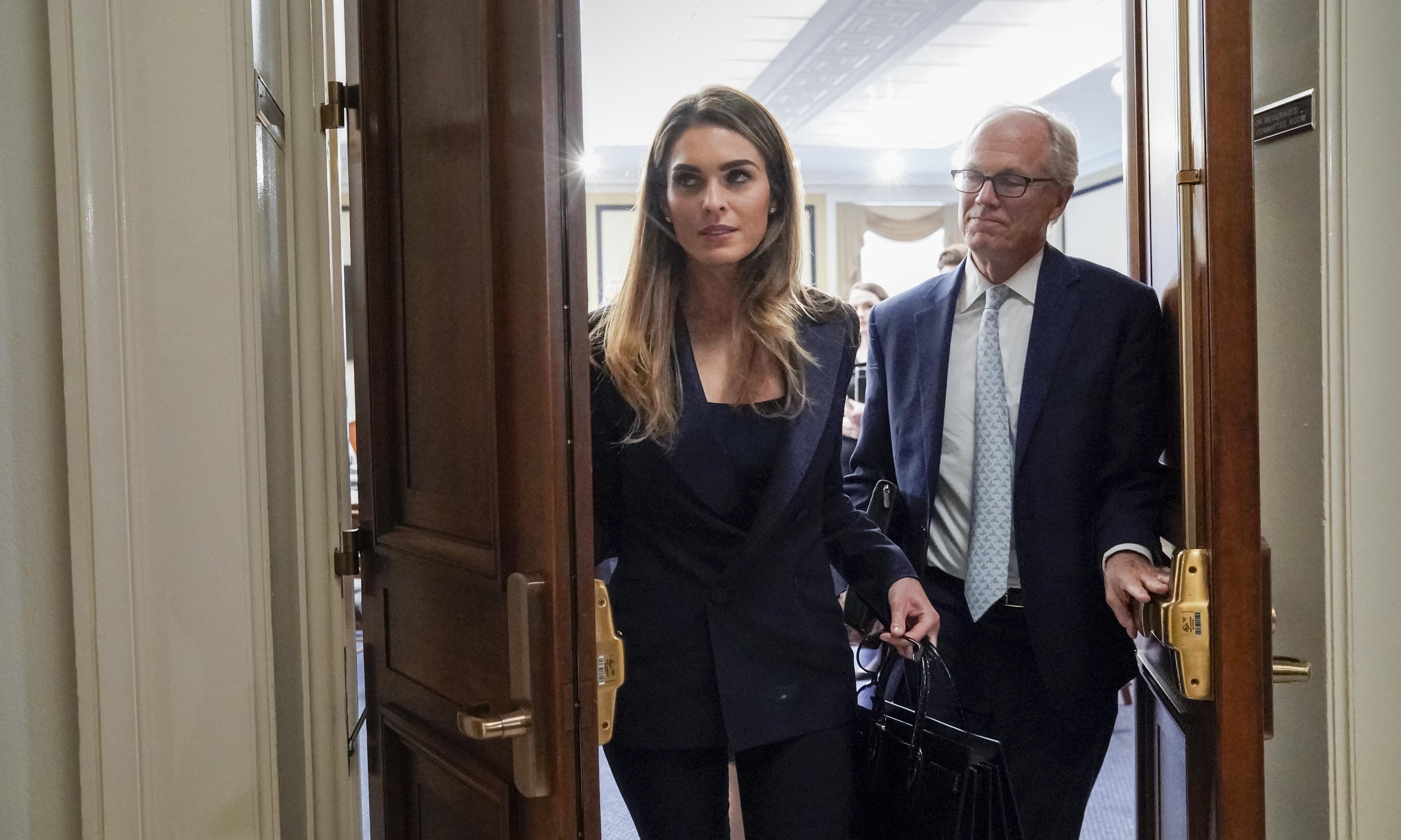 Hope Hicks: Trump adviser's testimony offers seven-hour exercise in prevarication